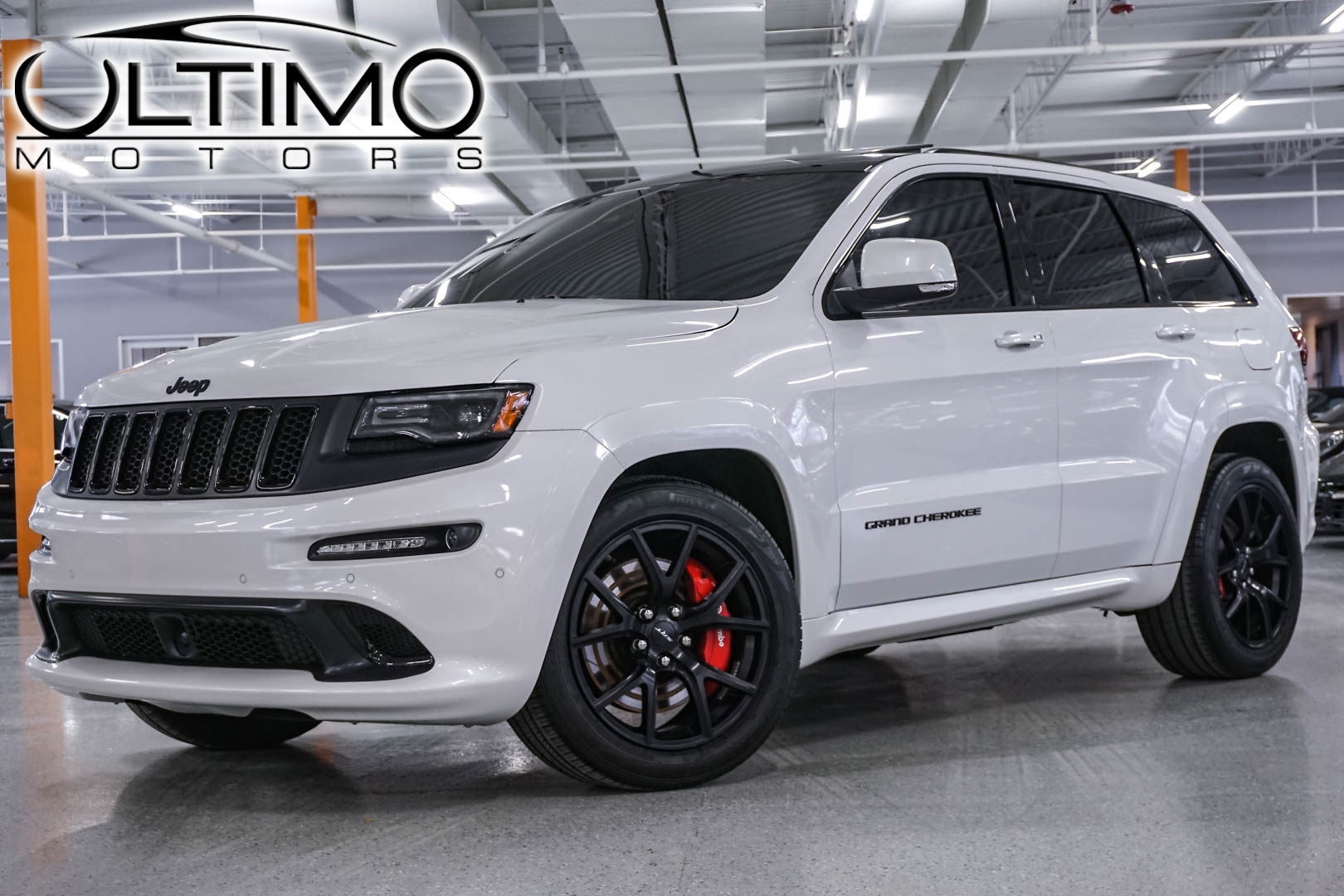 pre owned 2016 jeep grand cherokee srt night suv in warrenville u3654 ultimo motors. Black Bedroom Furniture Sets. Home Design Ideas