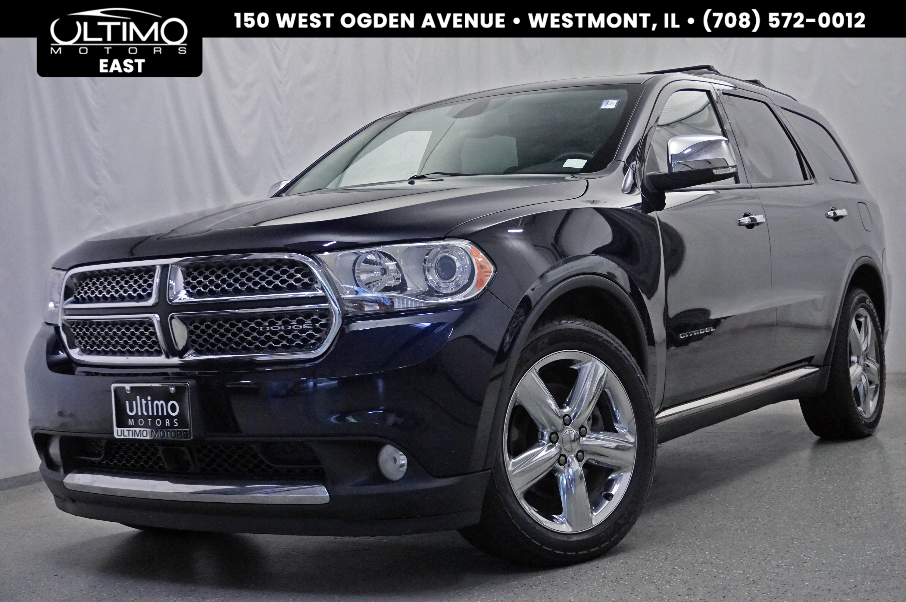 Pre Owned 2011 Dodge Durango Citadel Driver Assistance Pkg Rear DVD