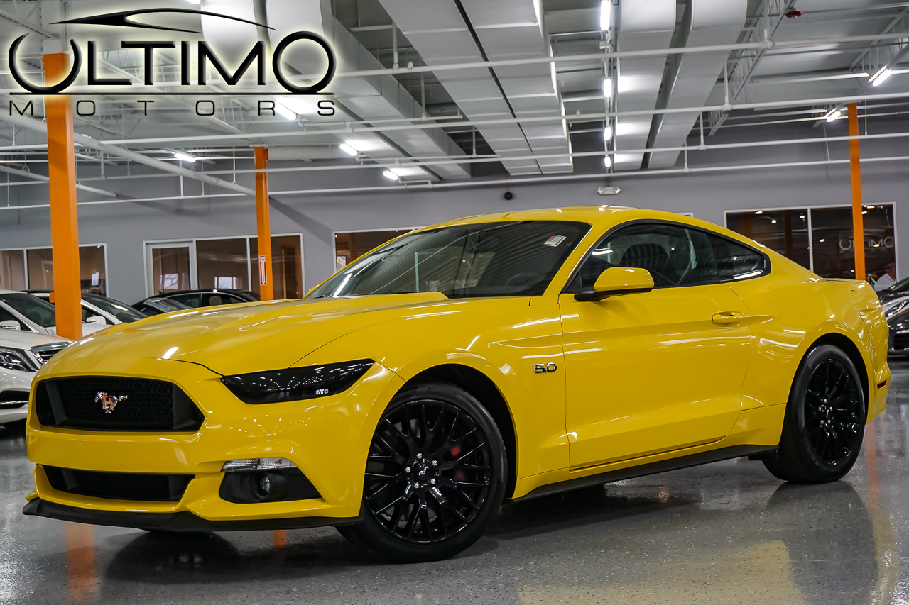 pre owned 2015 ford mustang gt coupe in warrenville. Black Bedroom Furniture Sets. Home Design Ideas