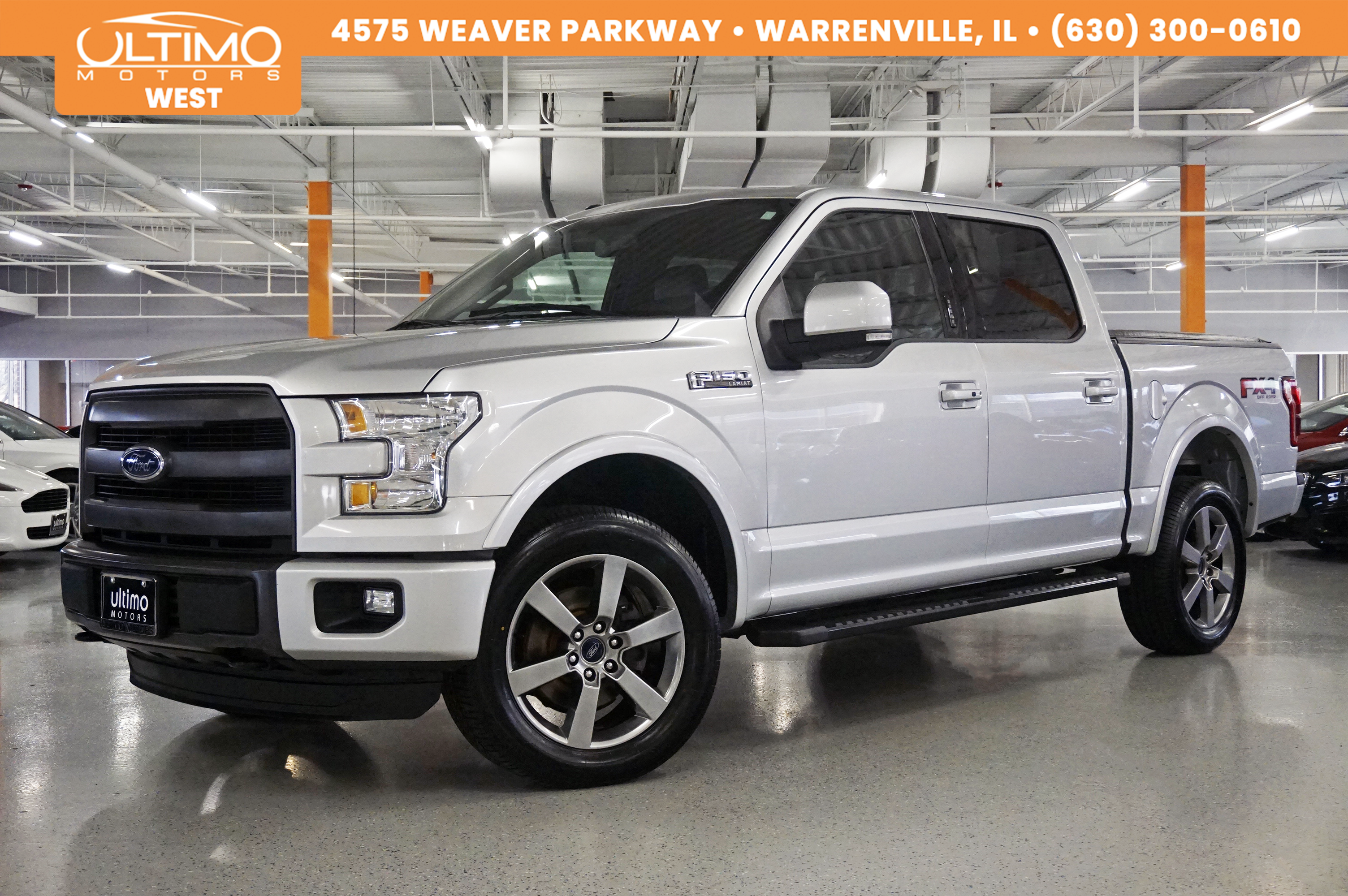 Pre-Owned 2015 Ford F-150 Lariat Nav, Rear Camera, Pano Roof, Blind Spot MSRP $53,425.00