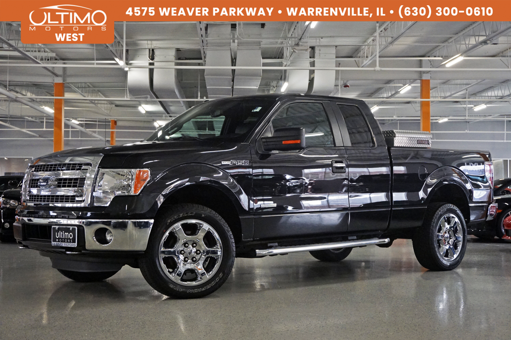 Pre-Owned 2014 Ford F-150 XLT Leather, Heated Seats, Park Distance Control