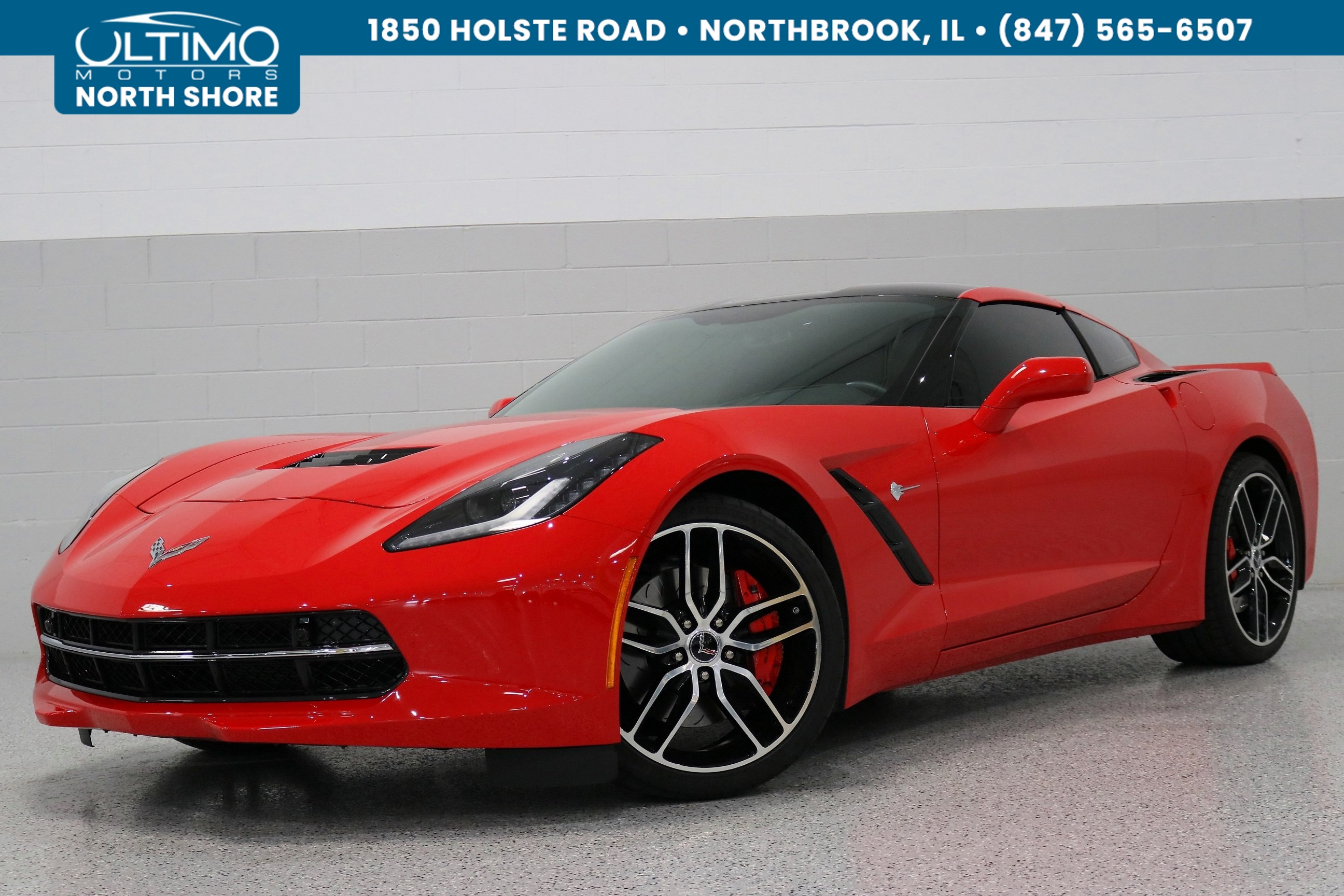 Pre-Owned 2016 Chevrolet Corvette Z51 2LT, MSRP $71,760