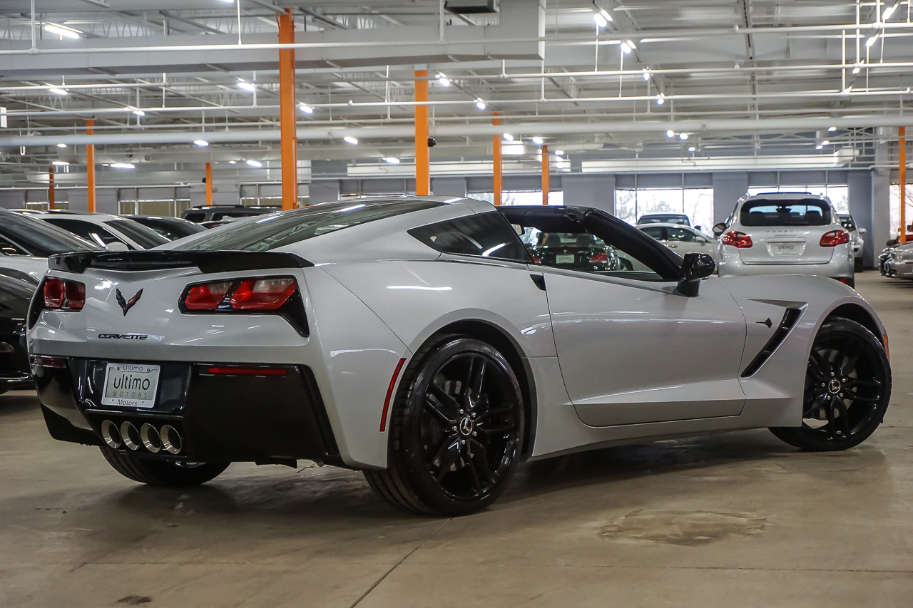 pre owned 2015 chevrolet corvette z51 2lt coupe in warrenville u1932 ultimo motors. Black Bedroom Furniture Sets. Home Design Ideas