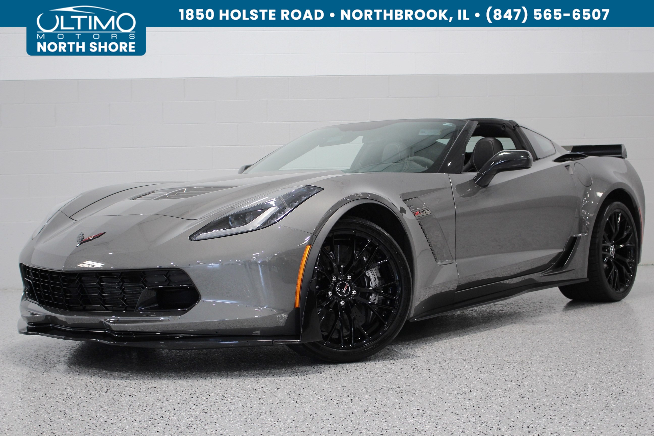 pre owned 2015 chevrolet corvette z06 3lz z07 w ccb carbon fiber