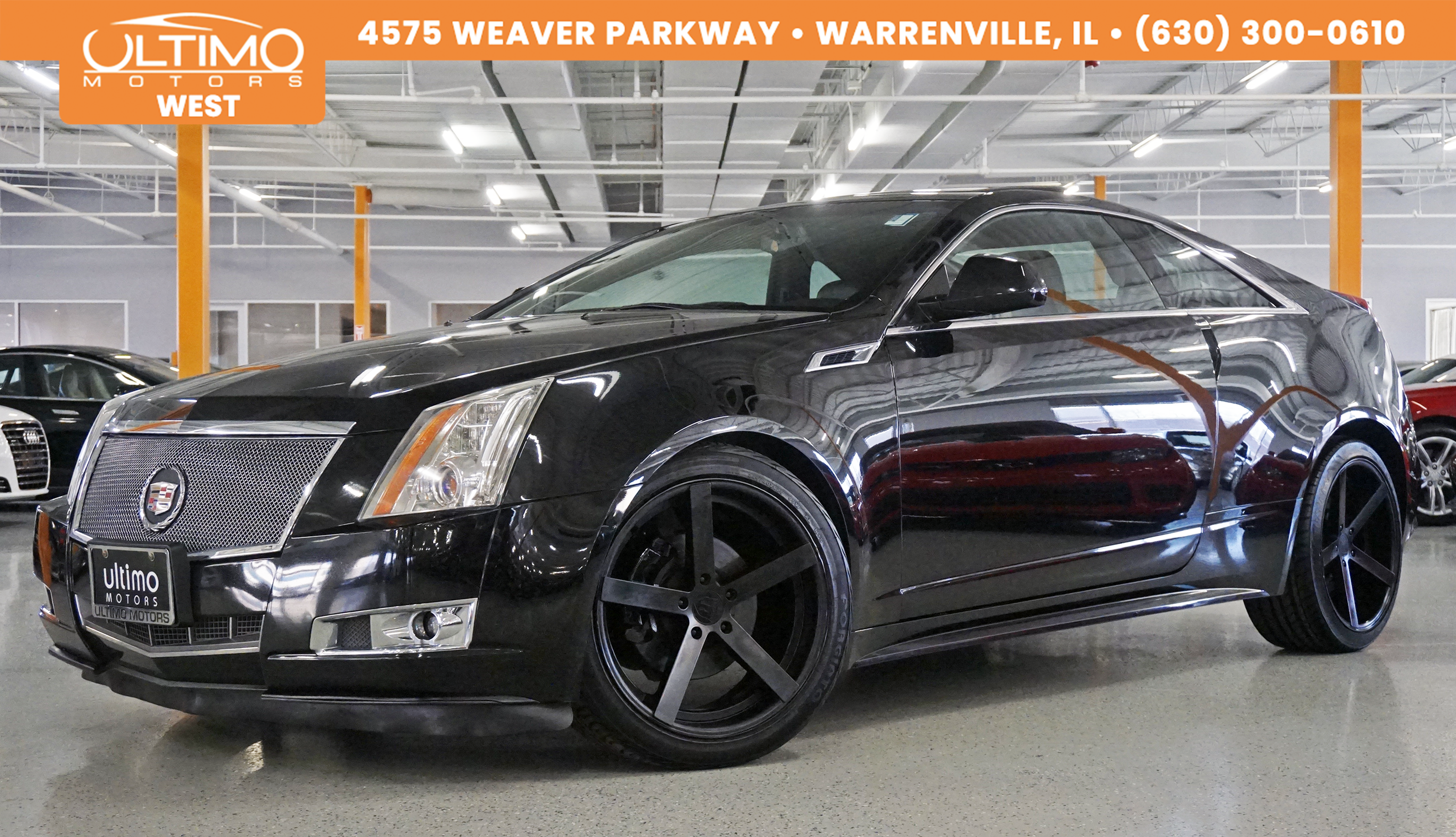 Pre-Owned 2011 Cadillac CTS Coupe Premium, Navi, Rear Camera, Heated & Ventilated Seats