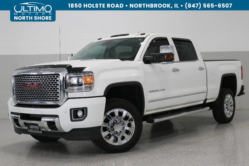 Pre-Owned 2016 GMC Sierra 2500HD Denali, MSRP $70,485, Duramax Plus