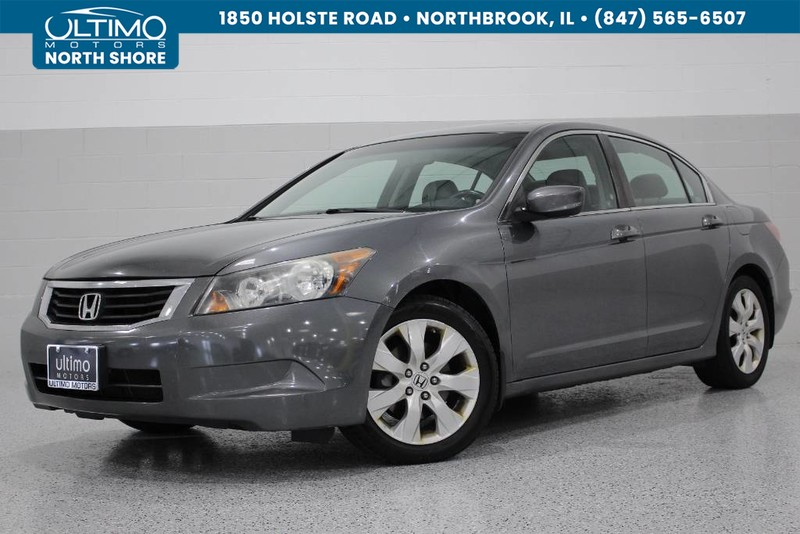 Pre-Owned 2009 Honda Accord Sdn EX-L, Navigation, Leather, Sunroof.