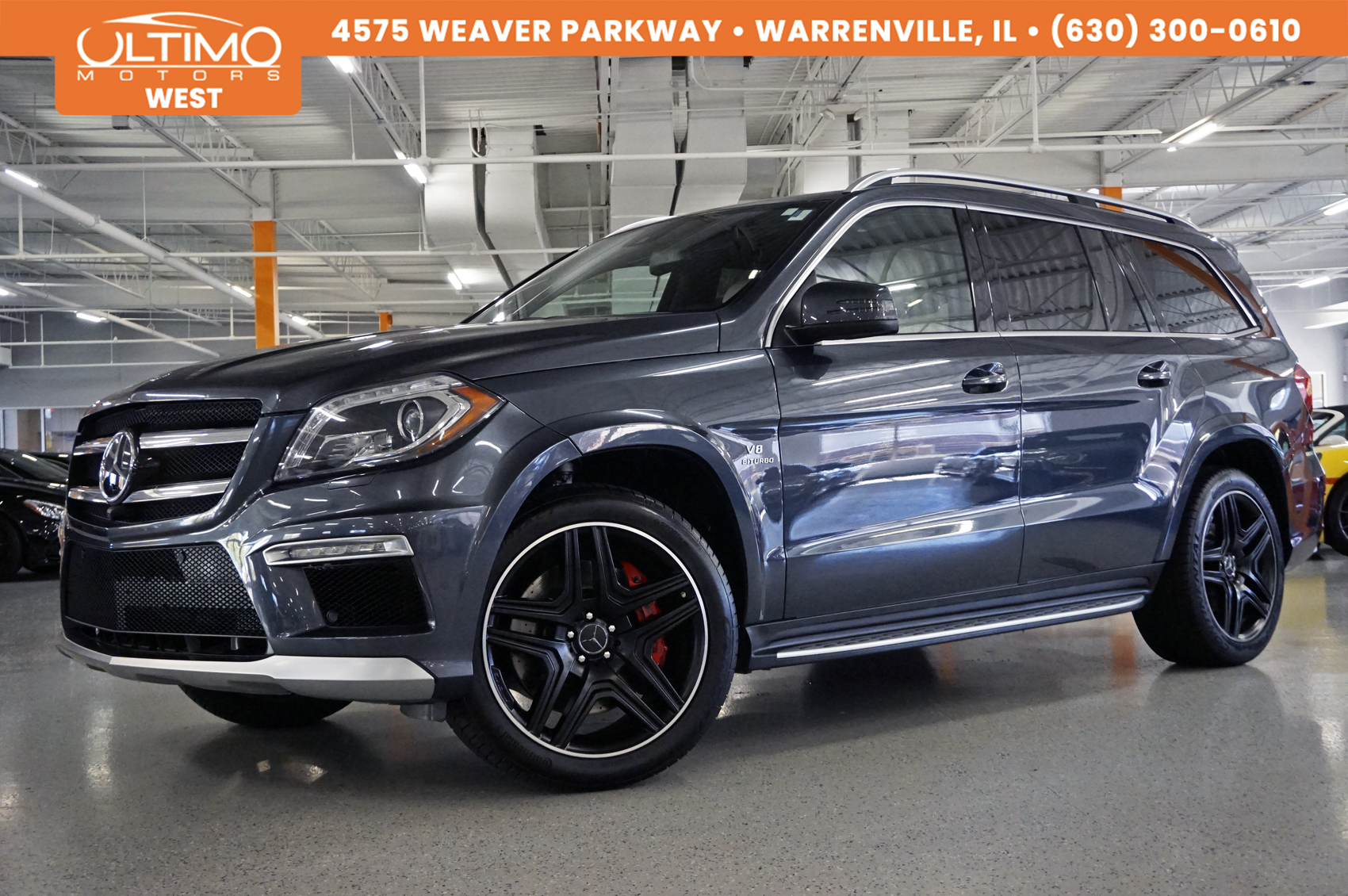 Pre-Owned 2015 Mercedes-Benz GL-Class GL 63 AMG® Pano-
