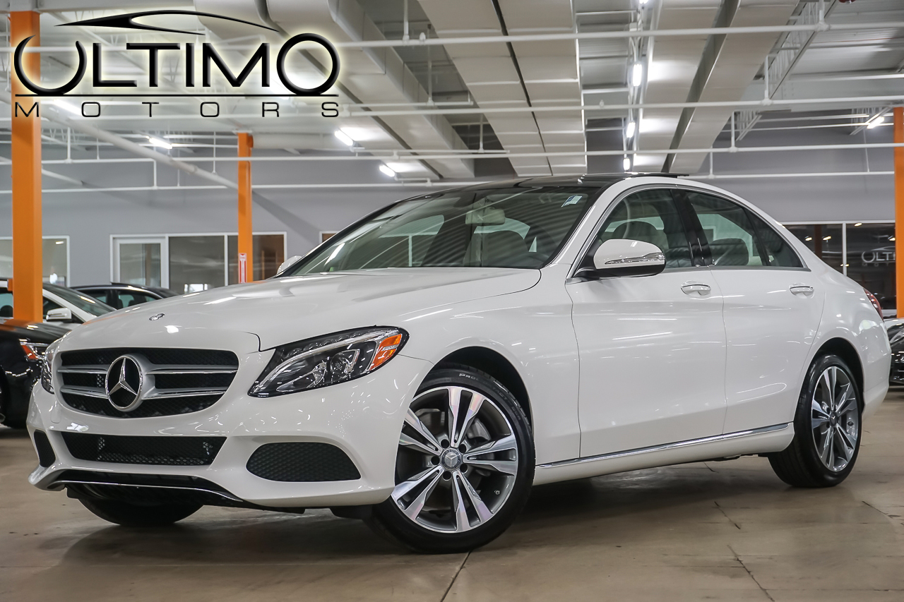 Pre owned 2015 mercedes benz c class c300 sedan in for Mercedes benz c class pre owned