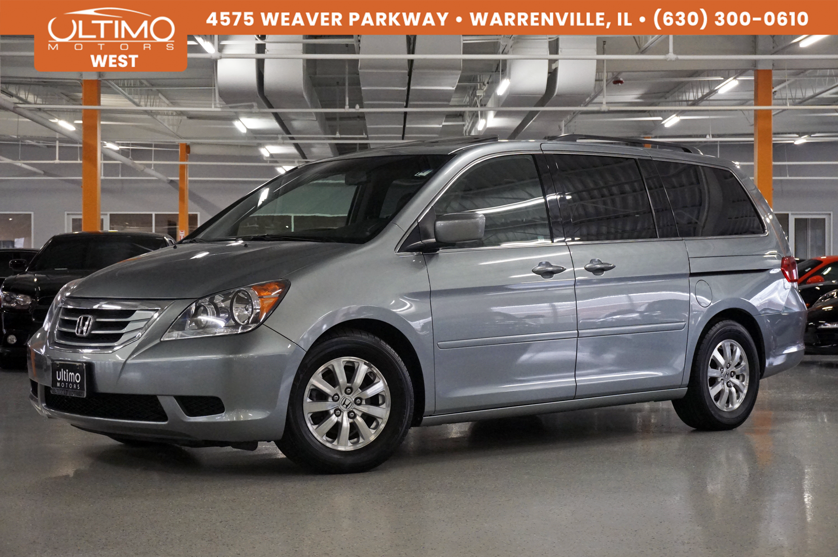 Pre-Owned 2009 Honda Odyssey EX-L with Rear Entertainment, Heated Seats, 1-Owner