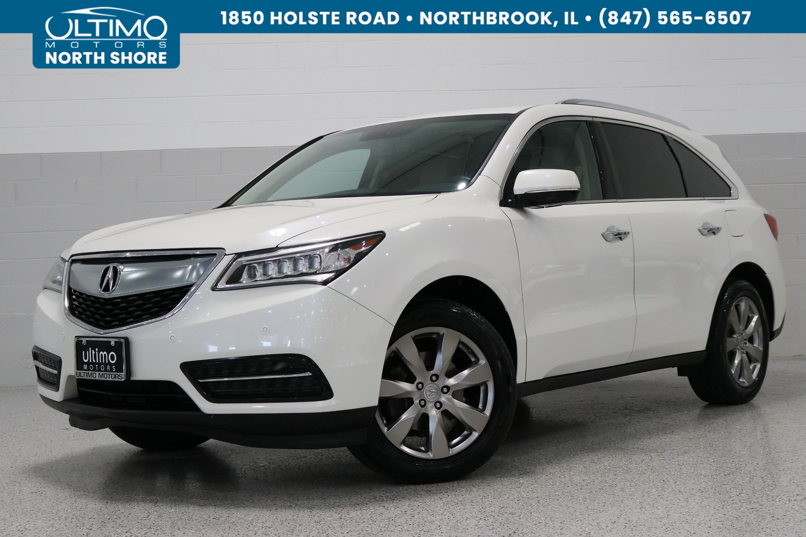 Pre-Owned 2014 Acura MDX 3.5L Advance Pkg w/Entertainment Pkg AWD