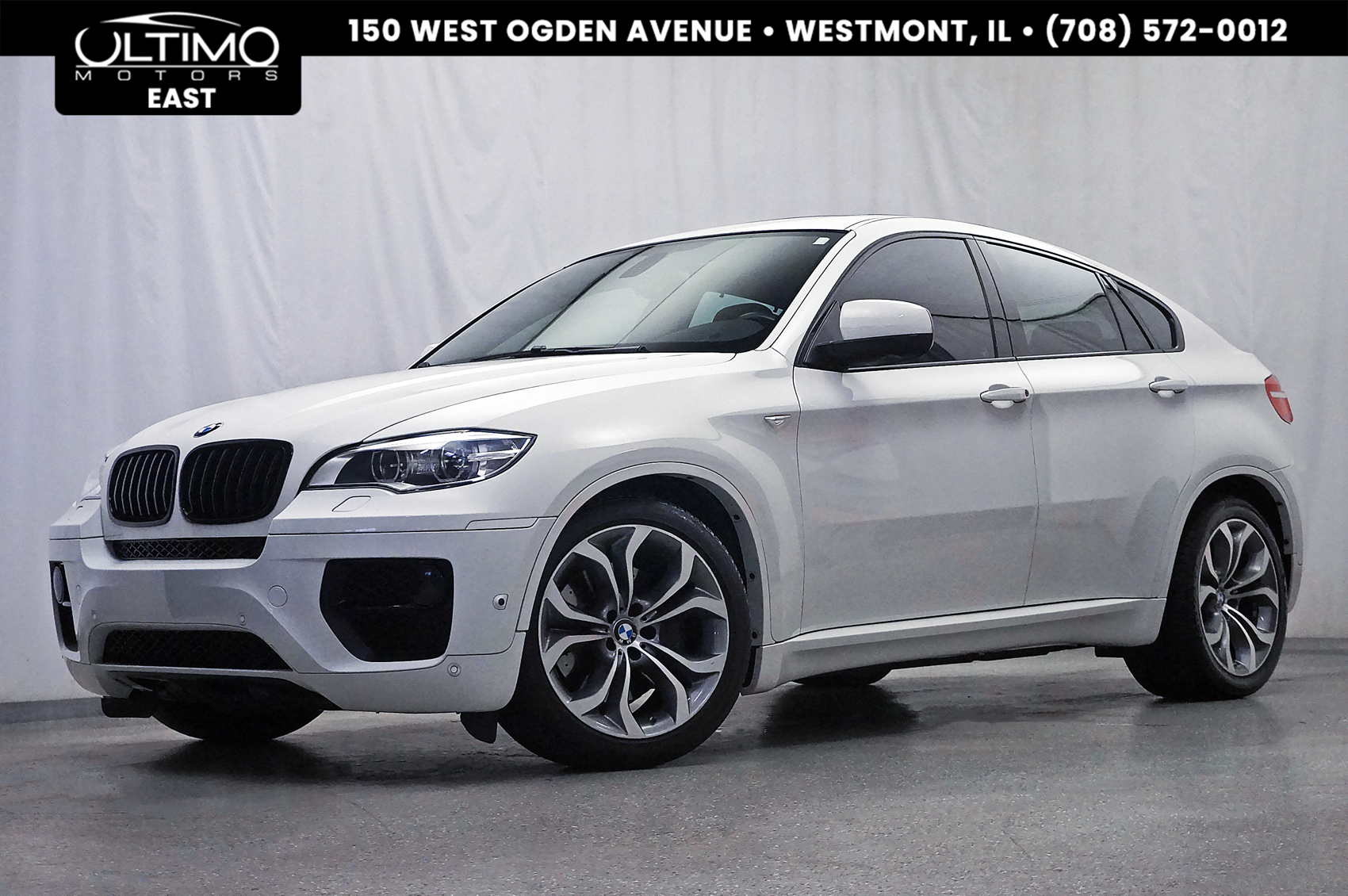 Pre-Owned 2014 BMW X6 xDrive50i Cold Weather Pkg, Premium Pkg, HUD, 20-Inch Wheels