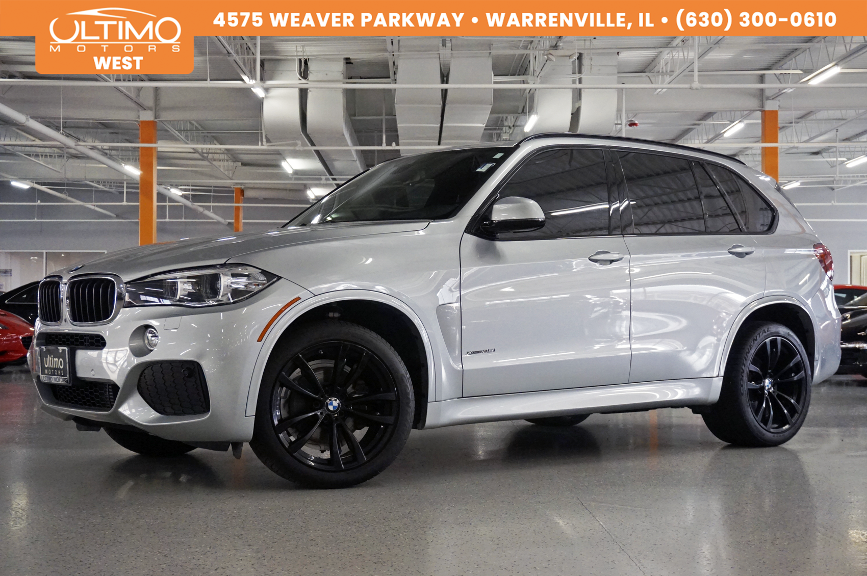 Pre-Owned 2017 BMW X5 xDrive35i M-Sport/Premium/Cold-Weather/Driving Assist ++