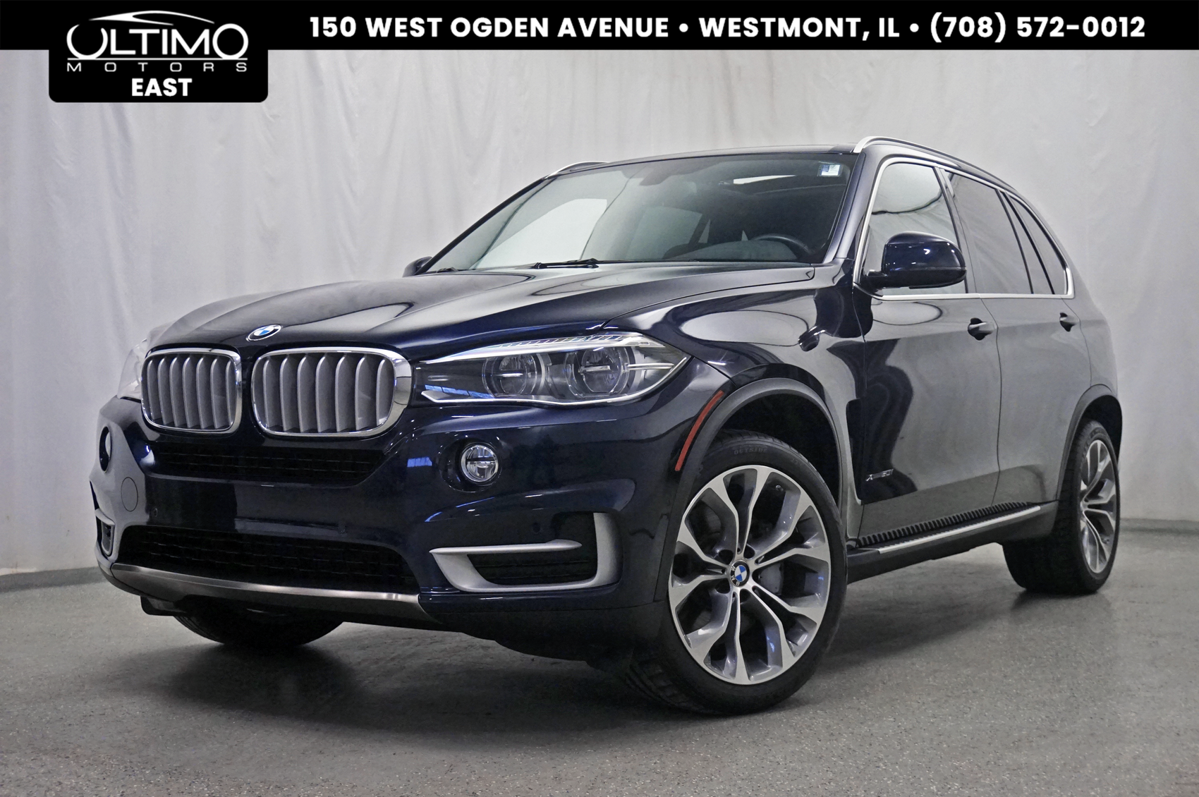 Pre-Owned 2016 BMW X5 xDrive50i Executive Pkg, Lighting Pkg, Rear Camera, Harman Kardon Sound