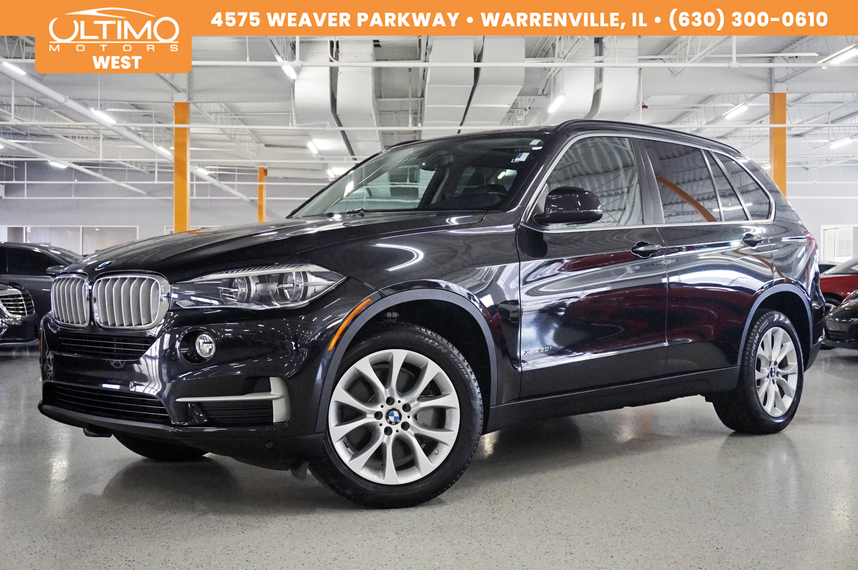 Pre-Owned 2016 BMW X5 xDrive50i Cold-Weather, Lighting pkg, Surround View MSRP $80,345.00