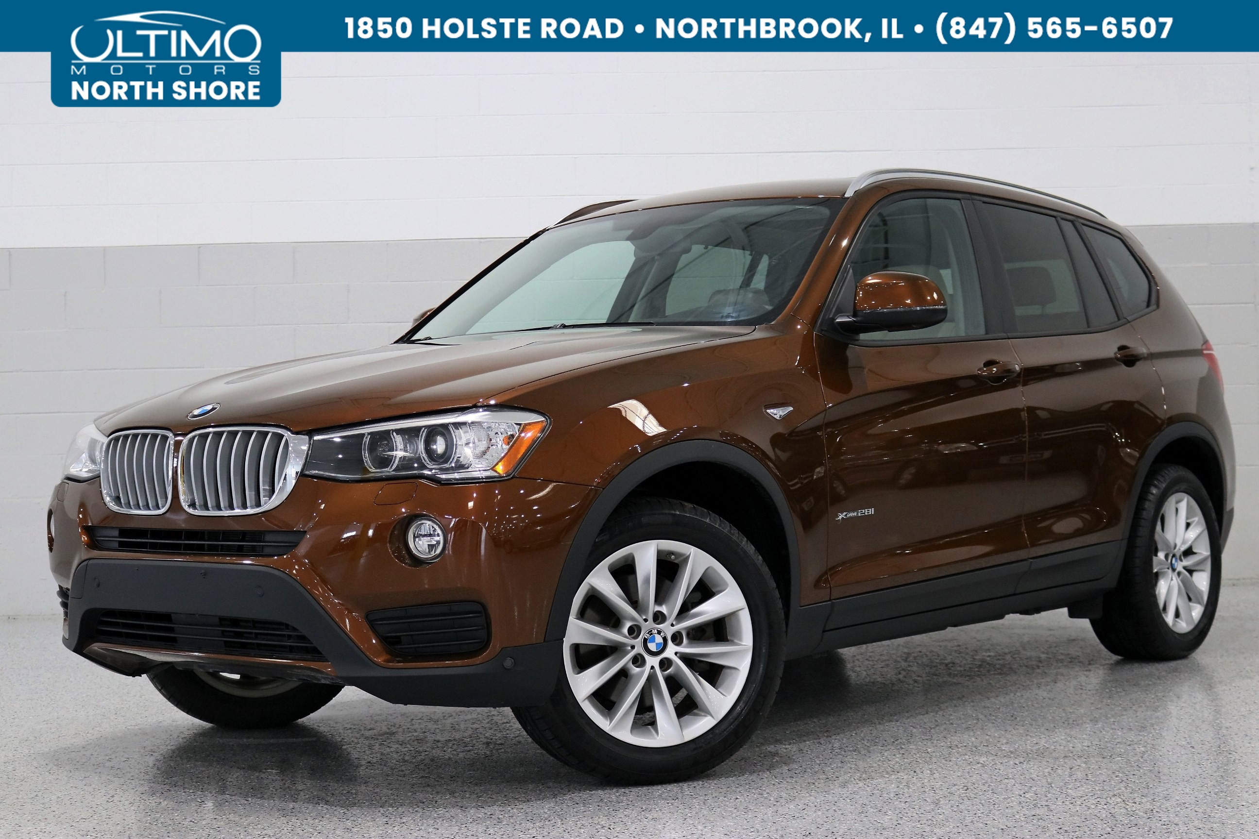 Pre-Owned 2017 BMW X3 xDrive28i, Driving Assistance, Premium, Lighting, Technology, Hi-fi Sound.