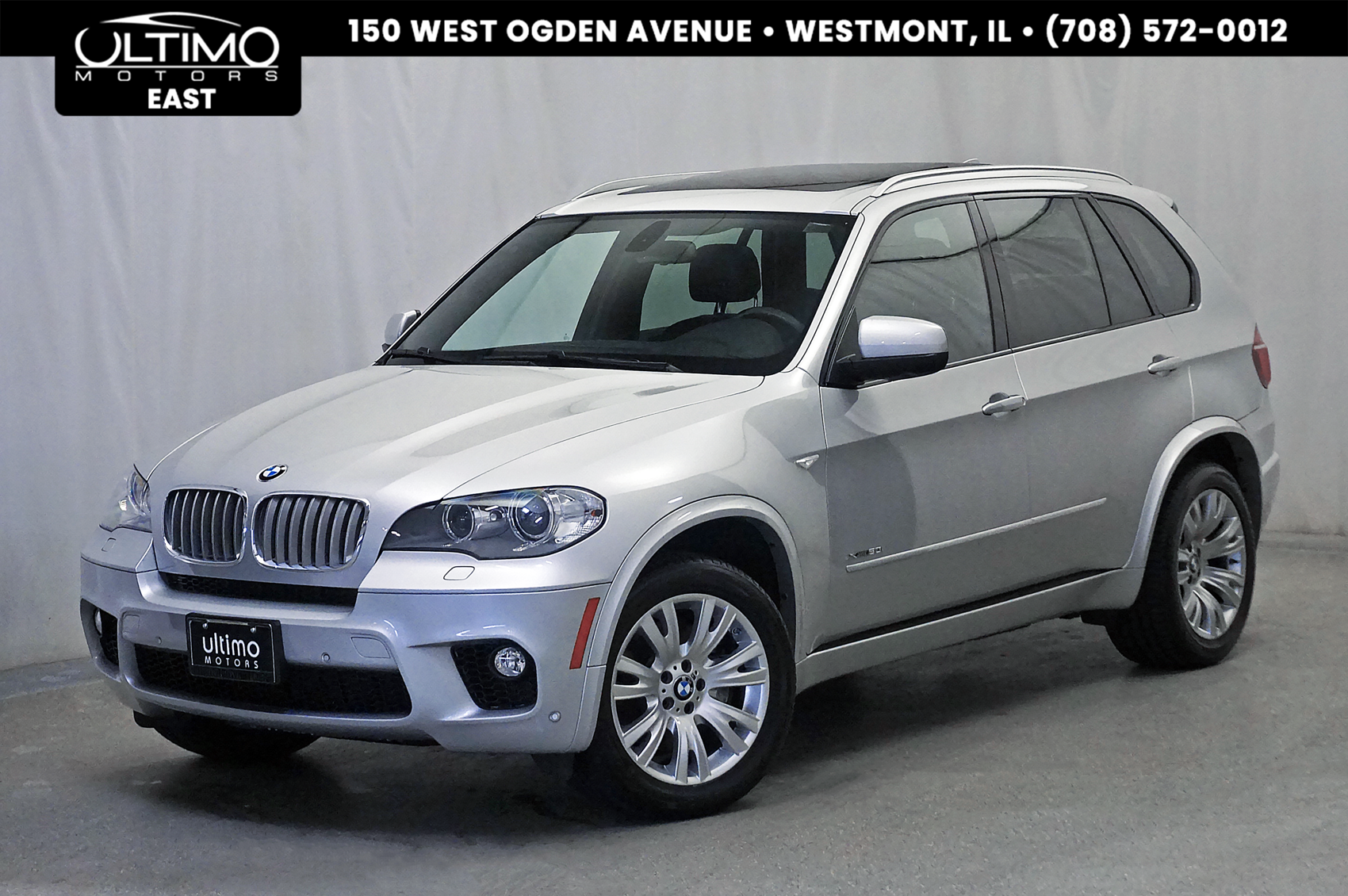 Pre-Owned 2013 BMW X5 xDrive50i M-Sport Package, Pano Roof, Nav, Camera, Cold Weather Package