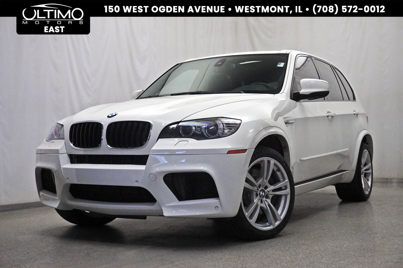Pre-Owned 2010 BMW X5 M Cold Weather Pkg, Heads Up Display, Rear Camera, Pano Roof, 555 HP