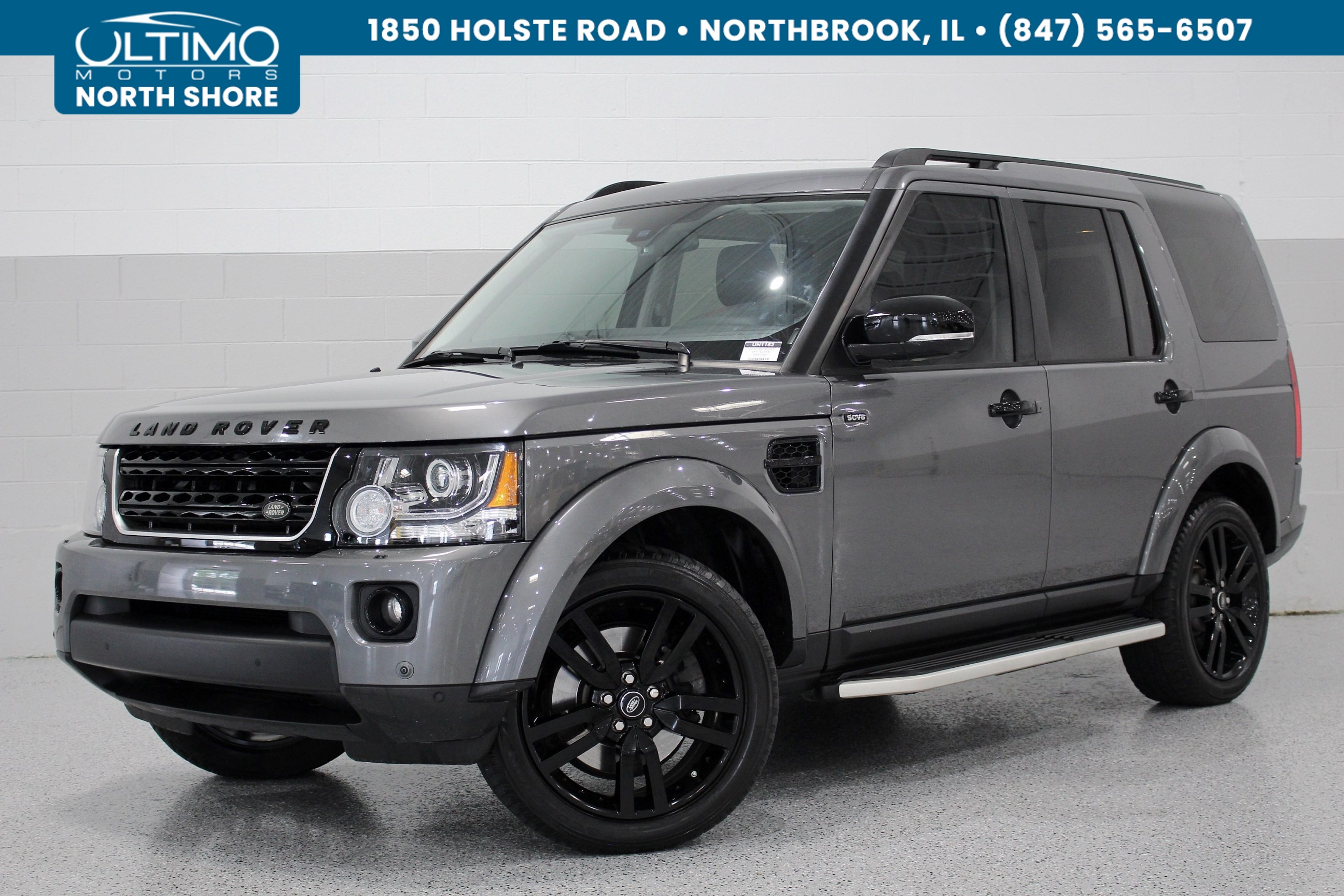 pre owned 2016 land rover lr4 hse silver edition navigation rear