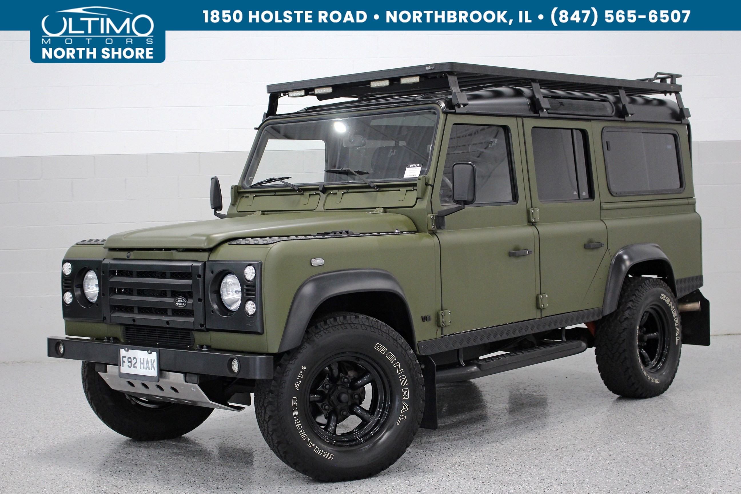 pre owned 2014 land rover defender 110 arkonik tomahawk 5 speed