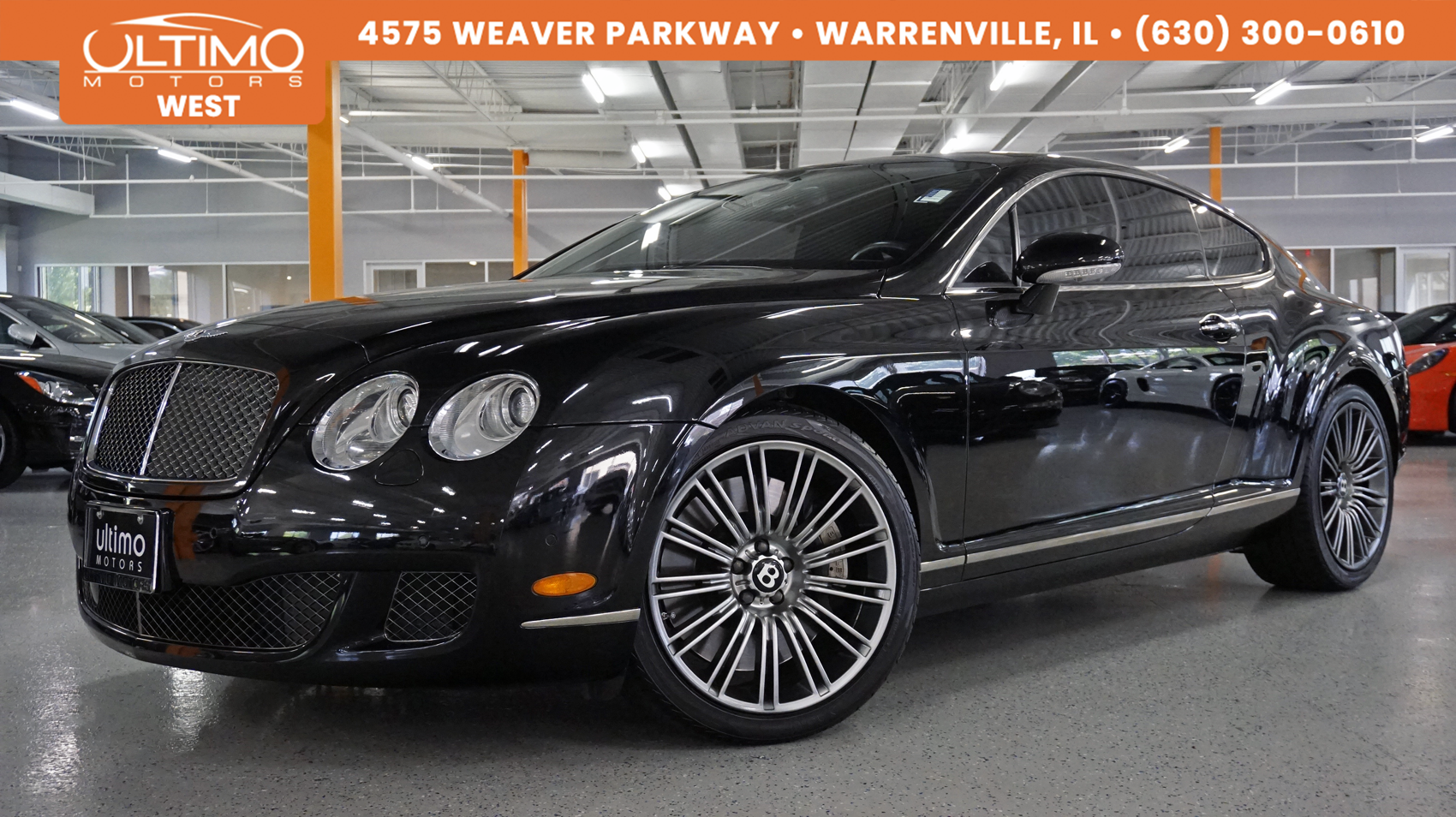 Pre-Owned 2009 Bentley Continental GT Speed Stitch Seats, Adaptive Cruise MSRP $219,735