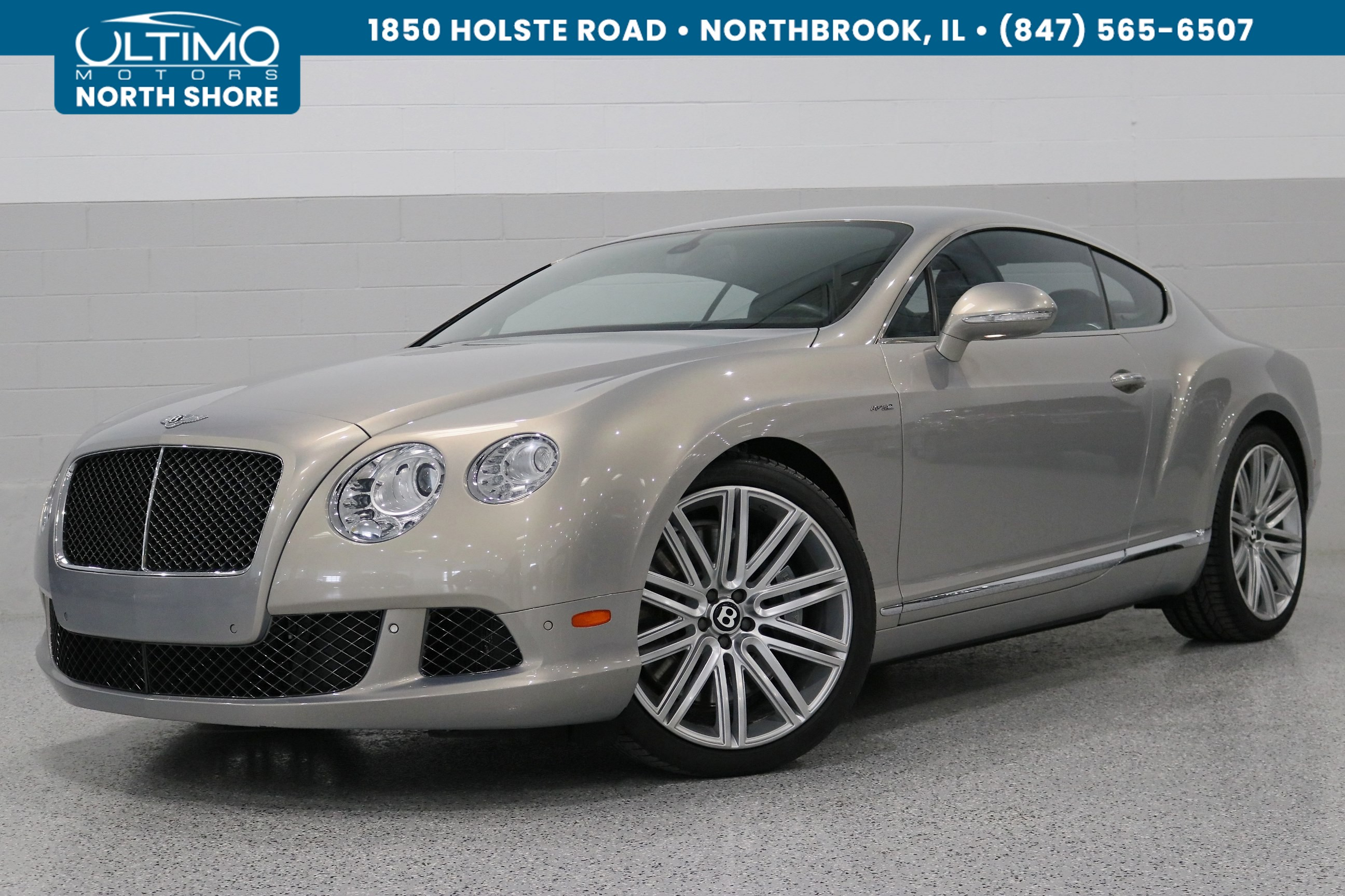 pre-owned 2014 bentley continental gt speed coupe in warrenville