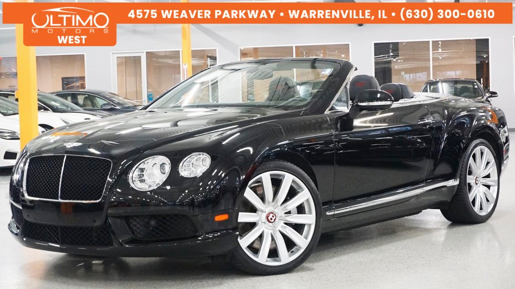 Pre-Owned 2013 Bentley Continental GTC GT V8 Convertible