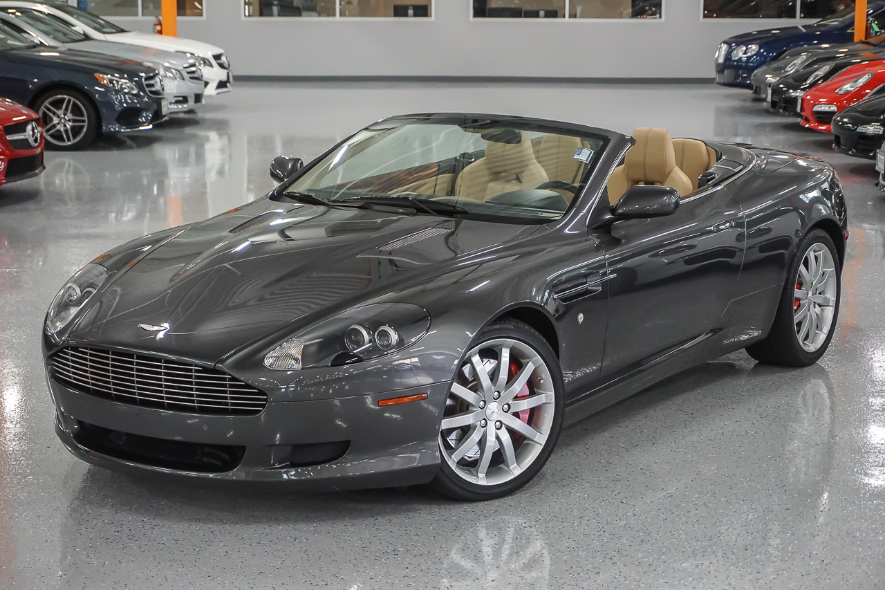 pre owned 2007 aston martin db9 convertible convertible in. Black Bedroom Furniture Sets. Home Design Ideas