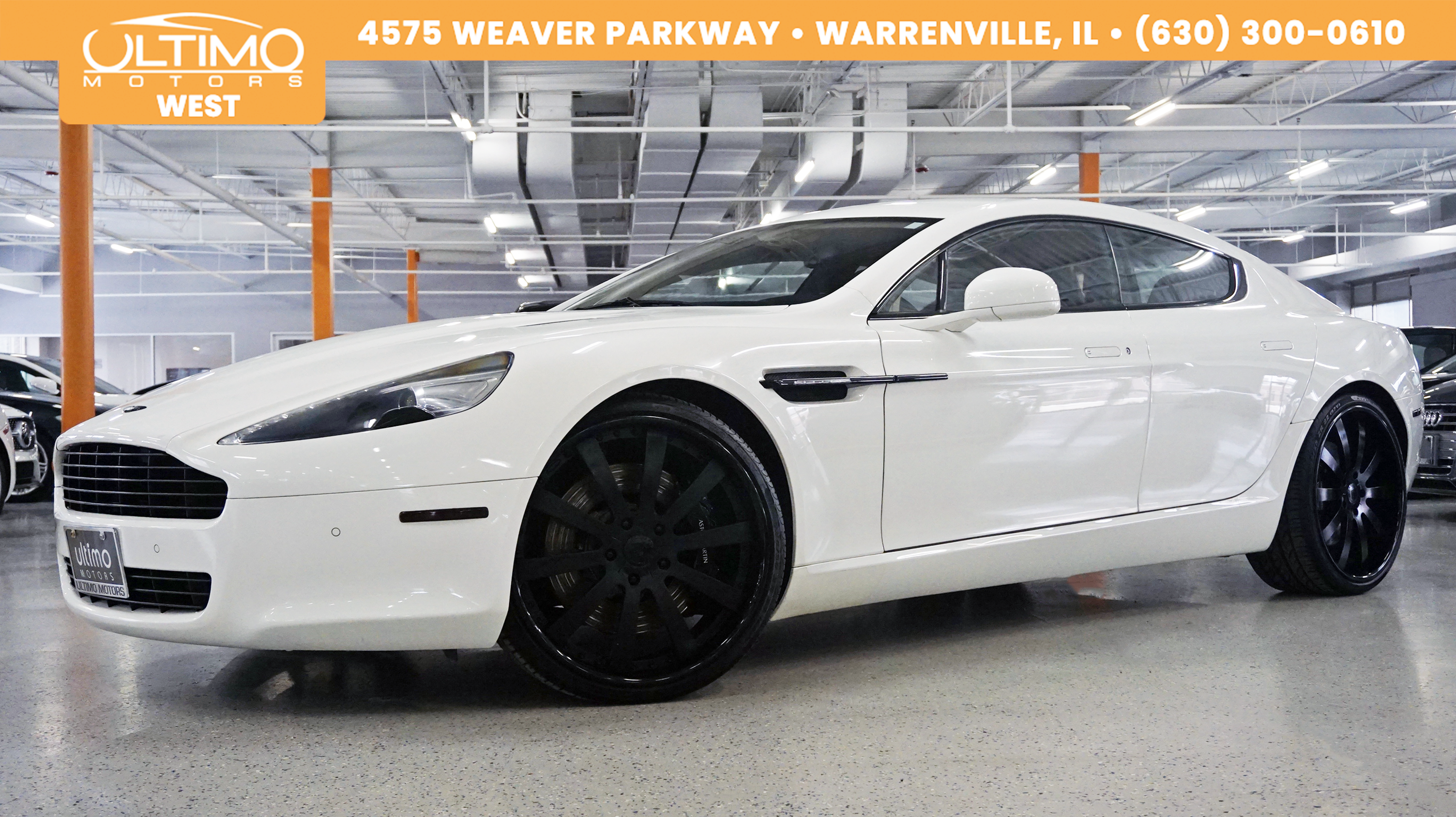 Pre-Owned 2011 Aston Martin Rapide Luxury. Bang and Olufsen, Rear Entertainment