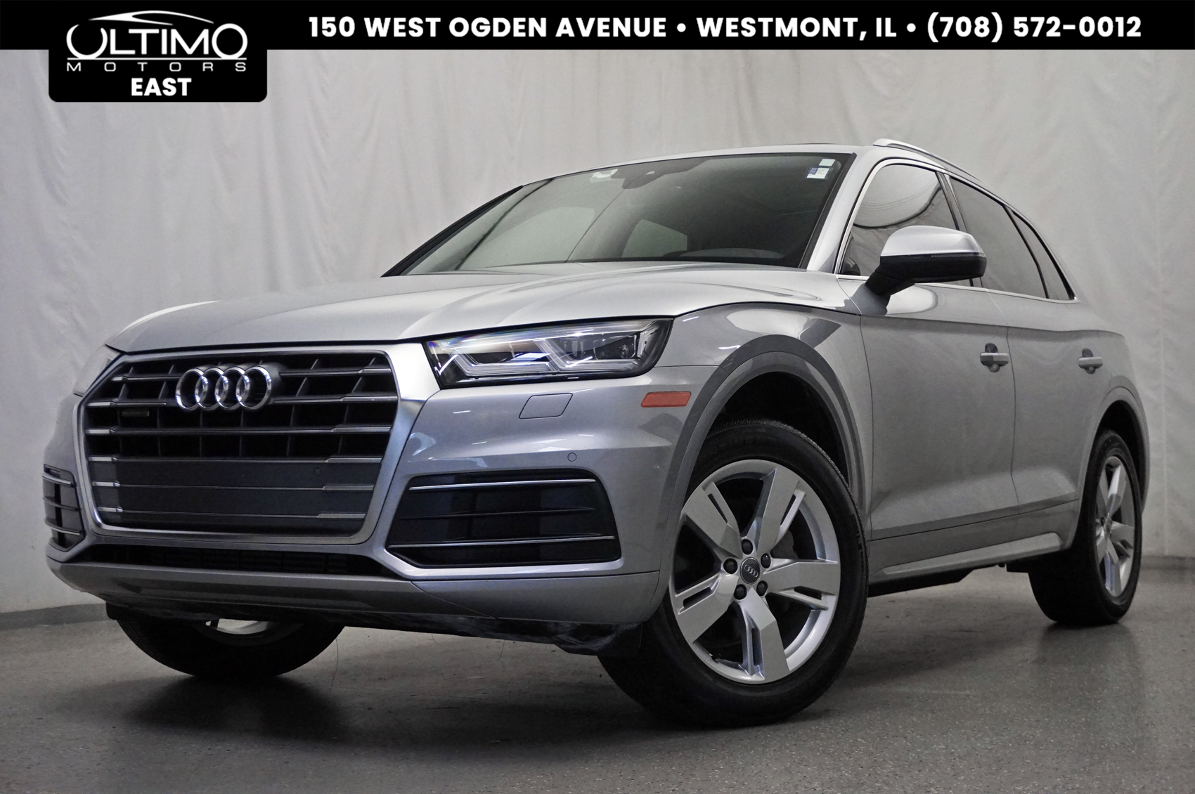 Pre-Owned 2018 Audi Q5 Premium Plus Cold Weather Pkg, 19-Inch Wheels, Navigation Pkg