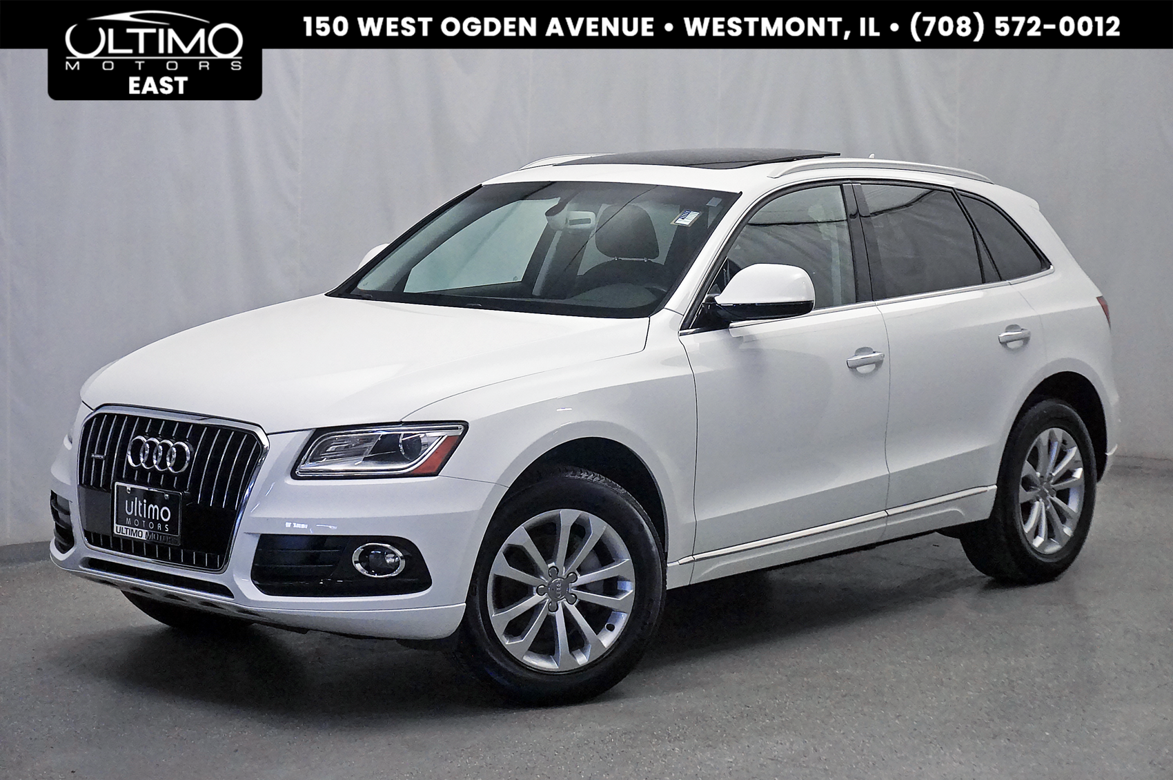 Pre-Owned 2016 Audi Q5 Premium Navigation Plus, Heated Seats, Xenon Plus 1-Owner!