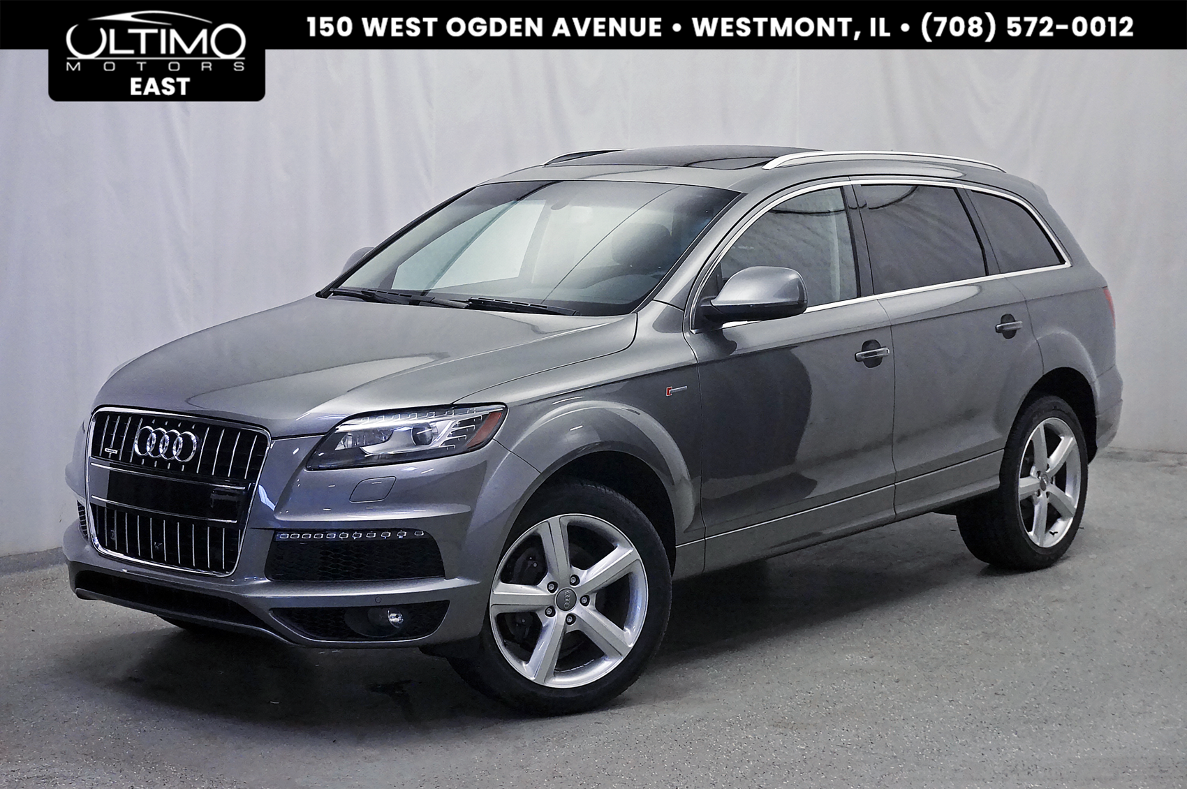 Pre-Owned 2015 Audi Q7 3.0T S line Prestige Luxury Pkg, Cold Weather Pkg, Tow Pkg