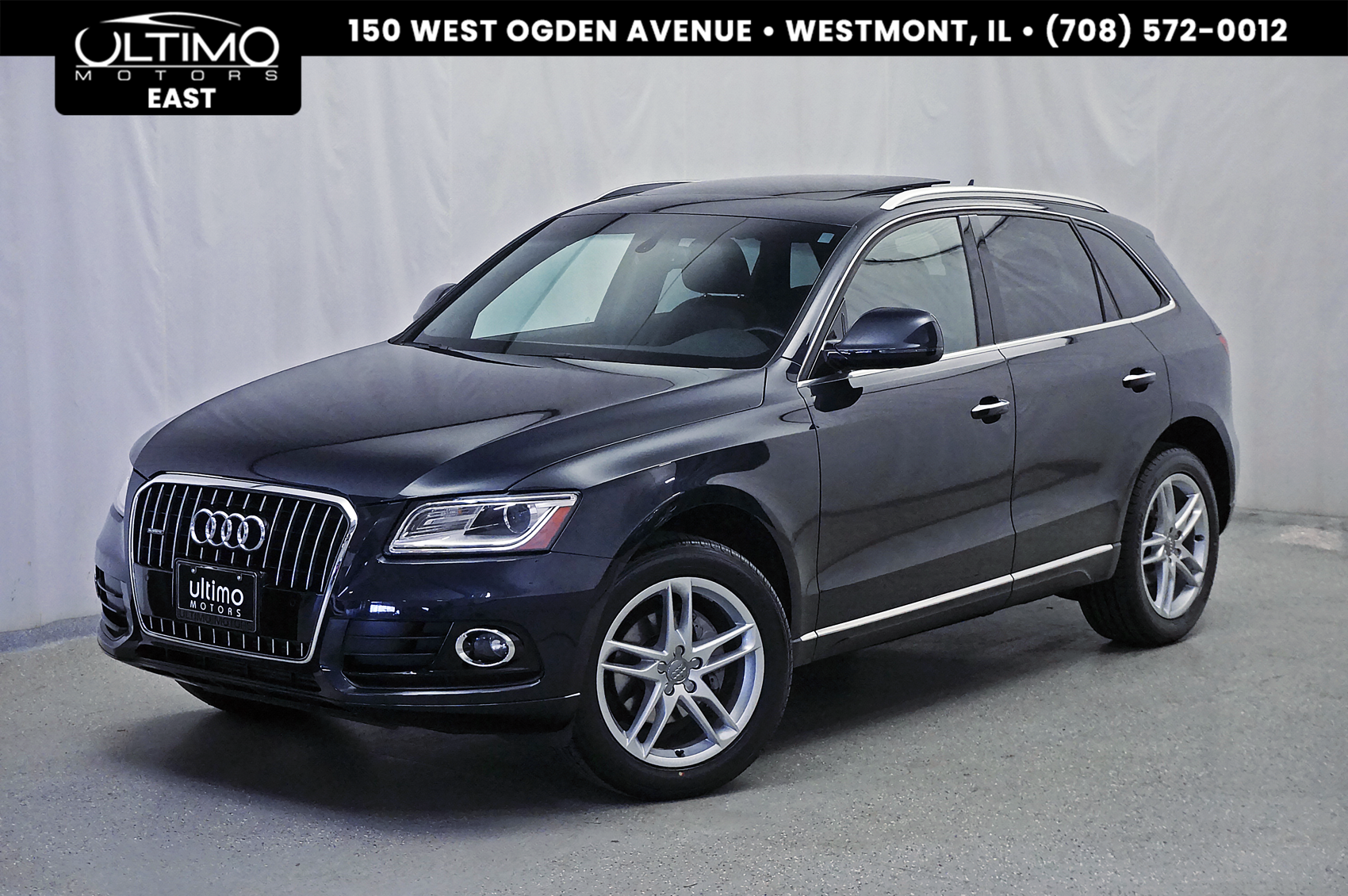 Pre-Owned 2015 Audi Q5 Premium Plus Technology Pkg!