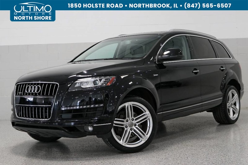 Pre-Owned 2015 Audi Q7 3.0T Premium Plus, Warm Weather Plus, Towing
