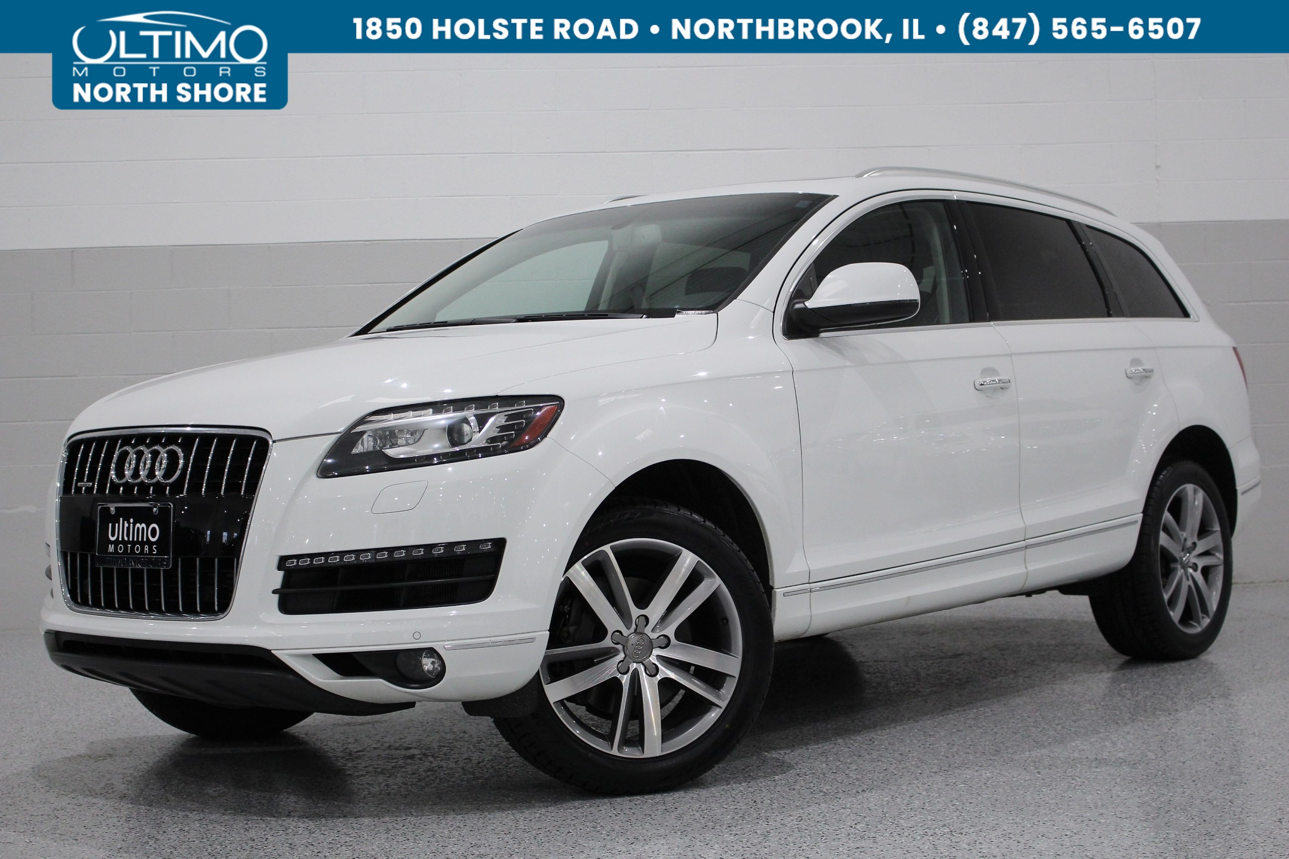 Pre-Owned 2015 Audi Q7 3.0T Premium Plus, 20 Inch Wheels, Pano Roof, Cold Weather F&R, BOSE.