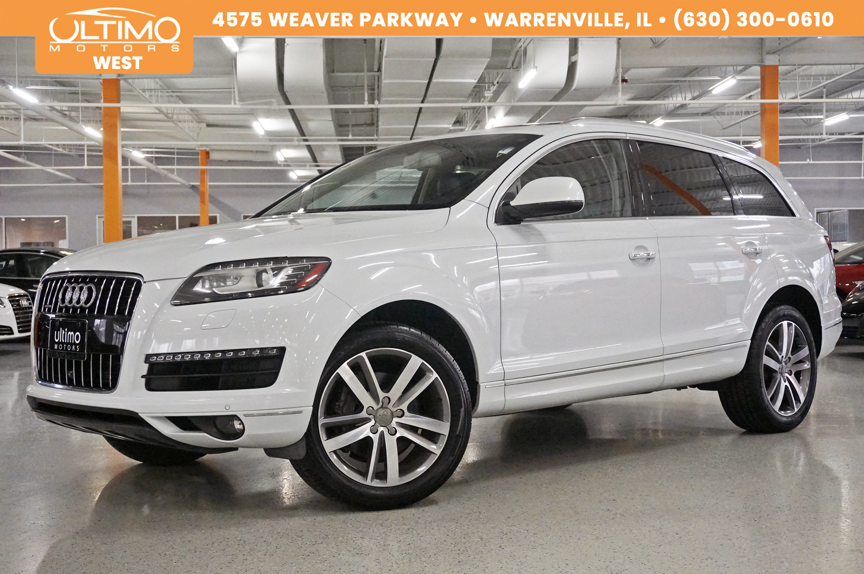 Pre-Owned 2013 Audi Q7 3.0T Premium Plus, Technology, Warm Weather Pkg, Adaptive Cruise