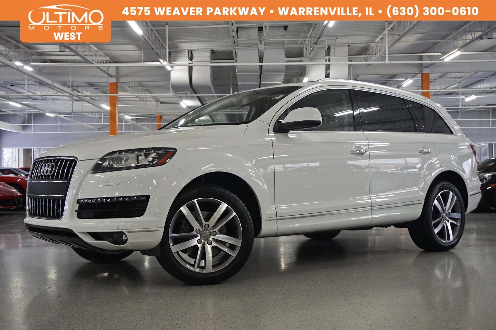 Pre-Owned 2014 Audi Q7 3.0T Premium Plus Warm Weather-pkg/20-Wheels, 1-Owner