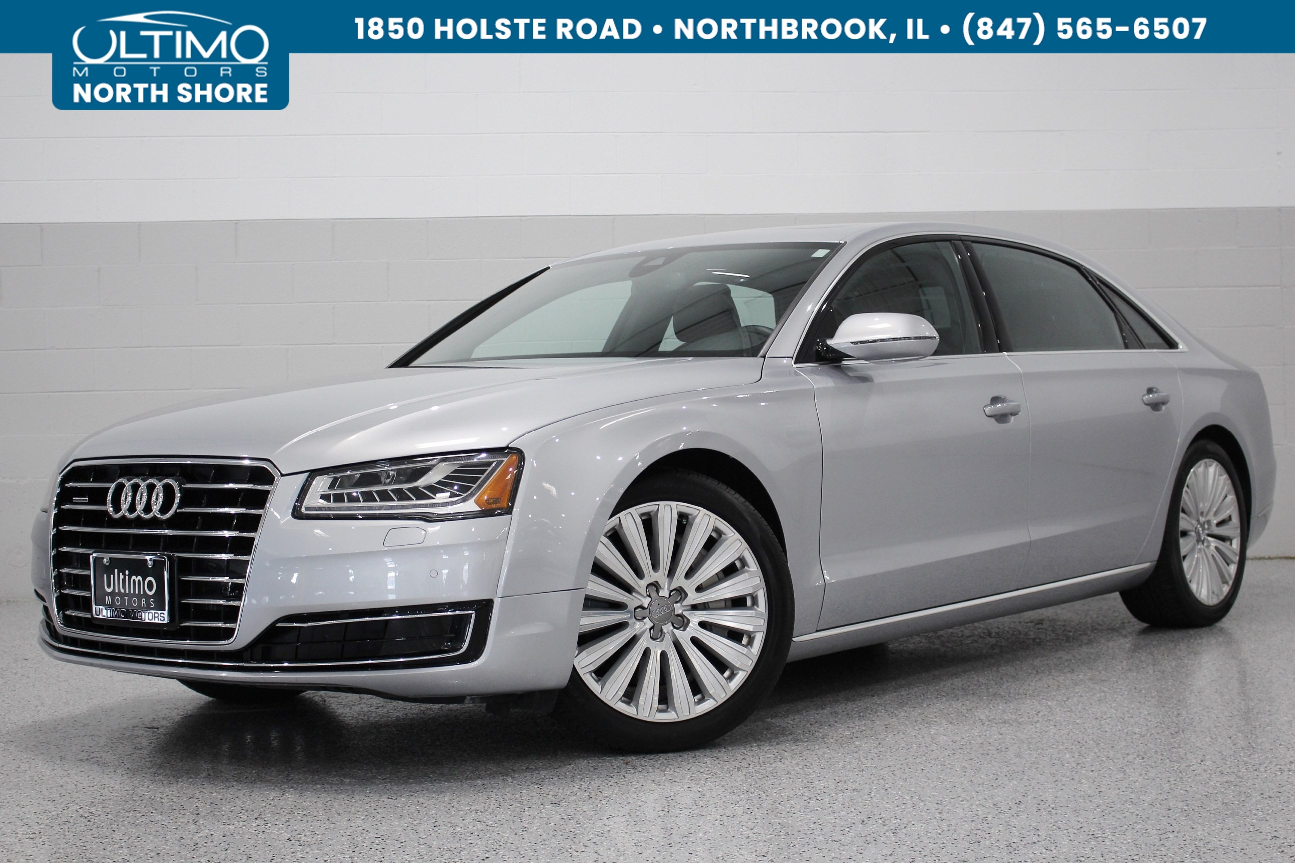 Pre-Owned 2015 Audi A8 L 4.0T 20-Inch Wheel Package, Cold Weather.