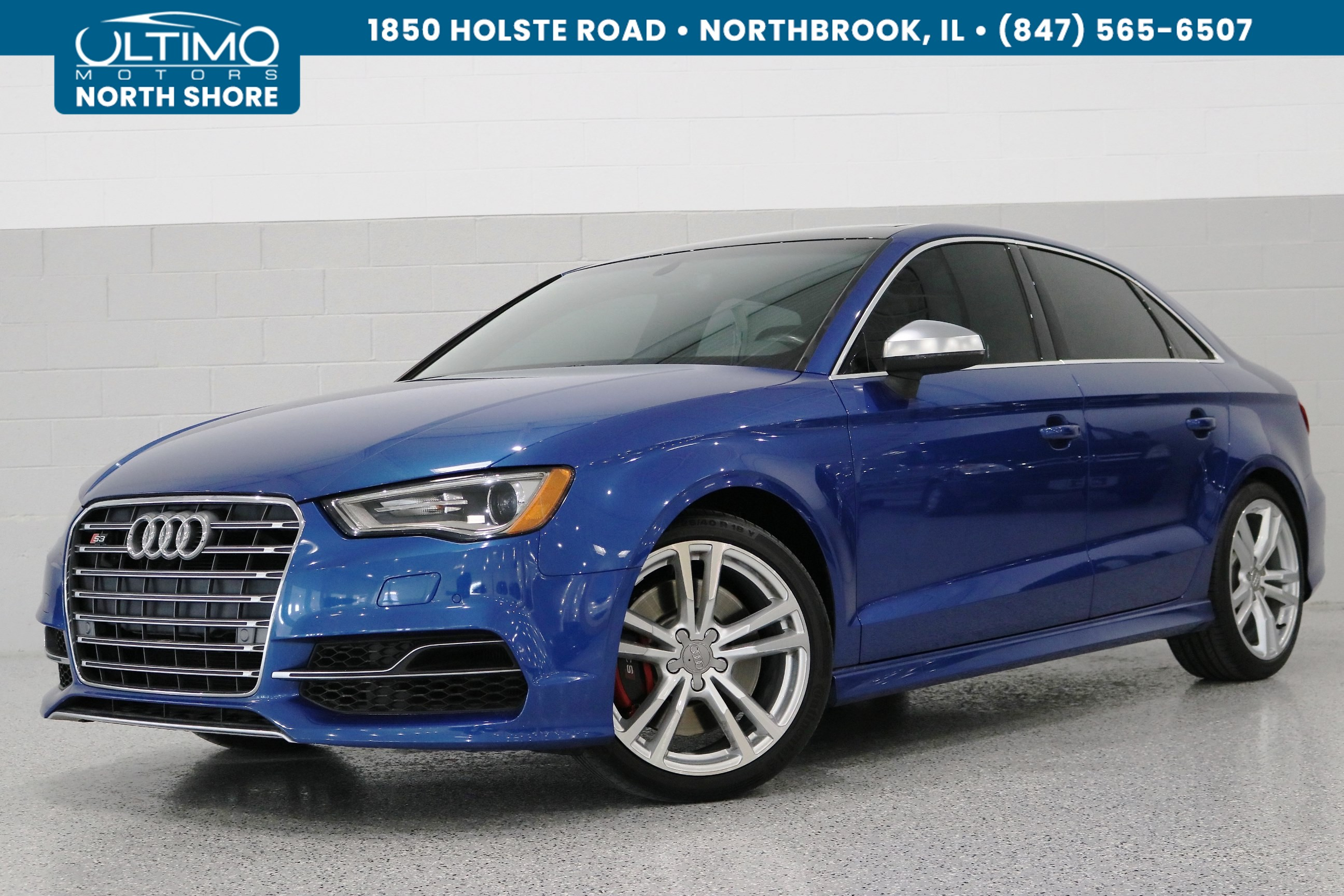 Pre-Owned 2016 Audi S3 Premium Plus, Technology Pack, Bang&Olufsen, Red Calipers.