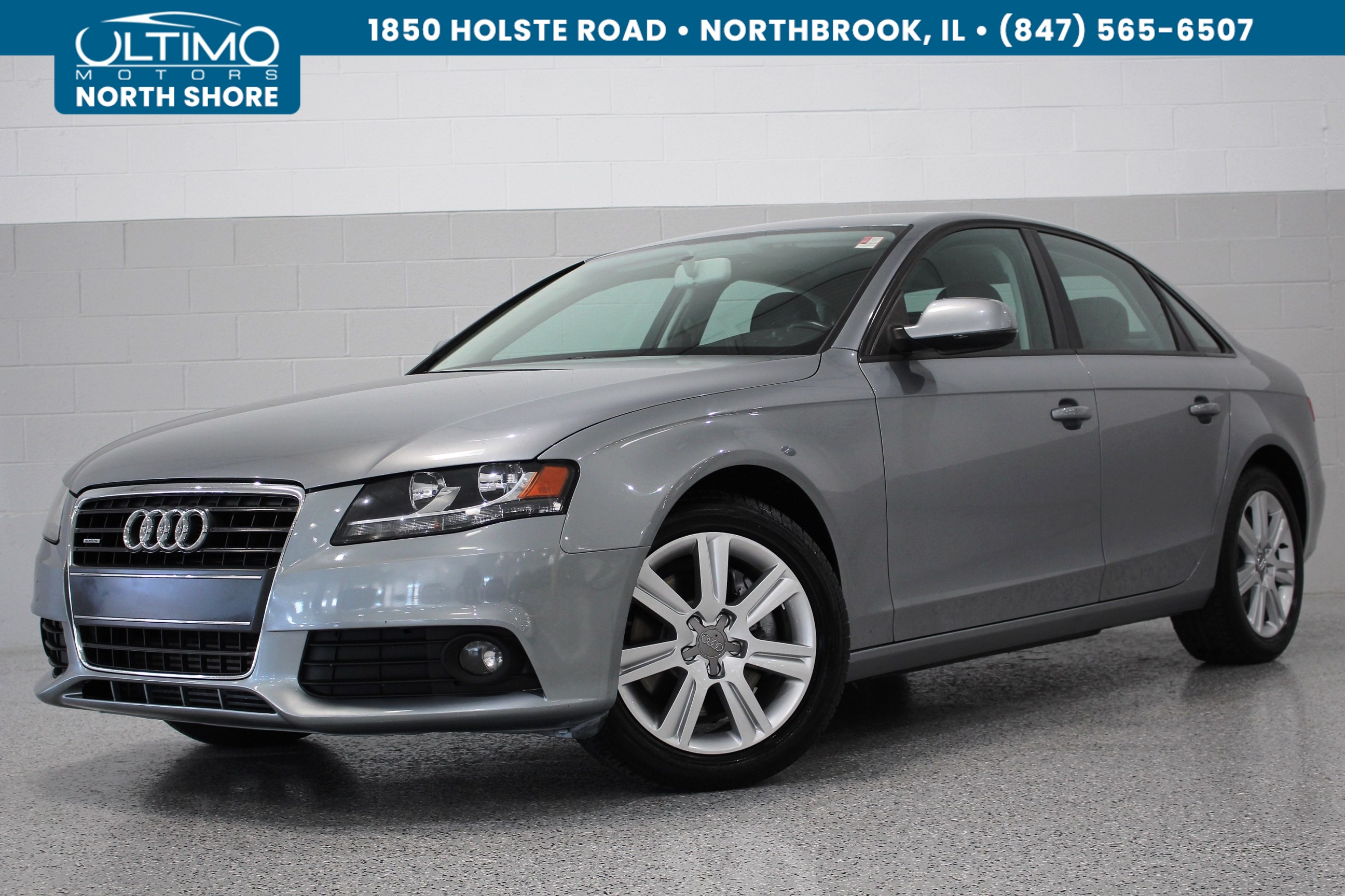 Pre-Owned 2011 Audi A4. 2.0T Premium, Bluetooth, Heated Seats, Quattro