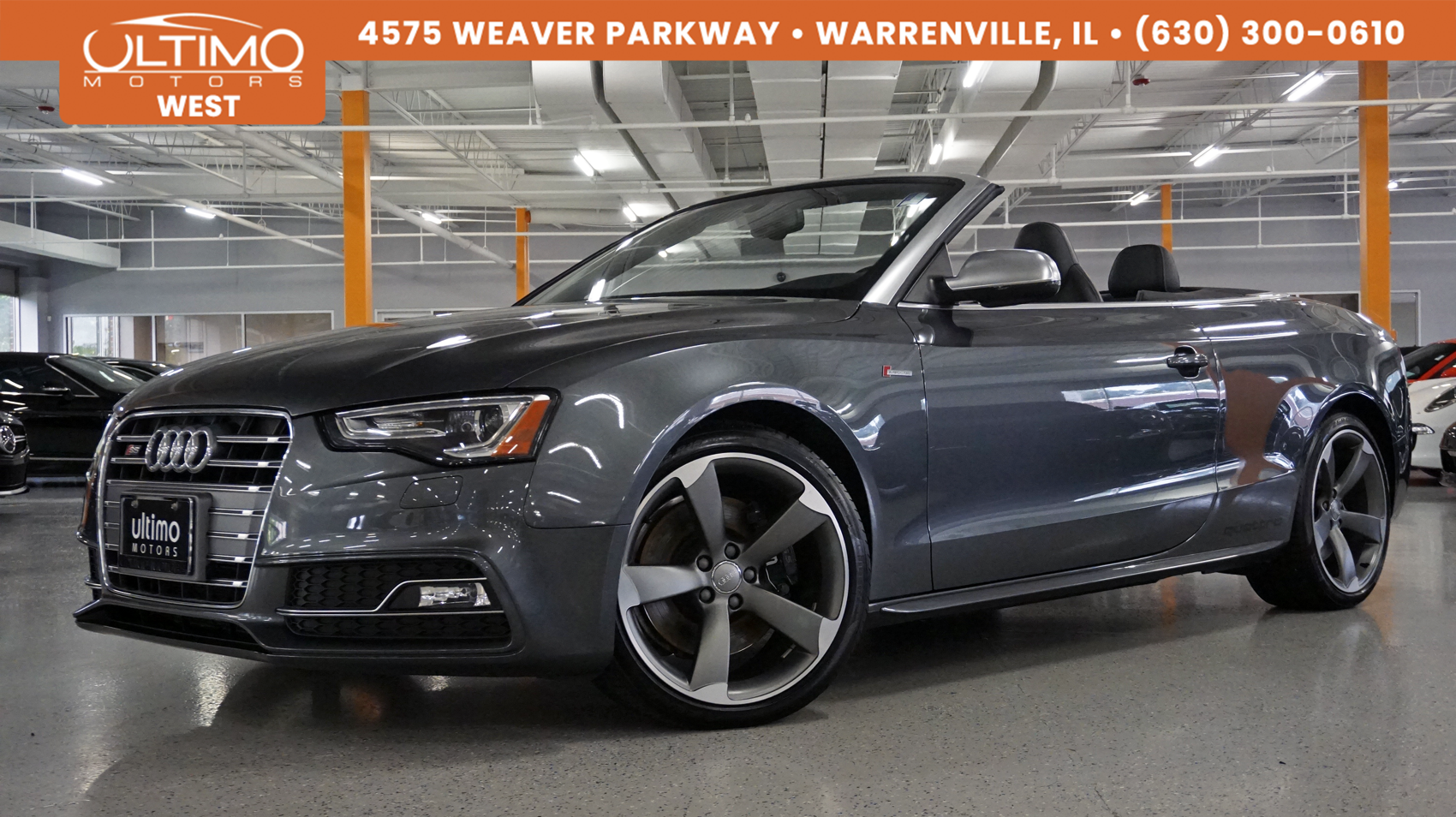 Pre-Owned 2017 Audi S5 Cabriolet Technology, Sports Differential, Supercharged