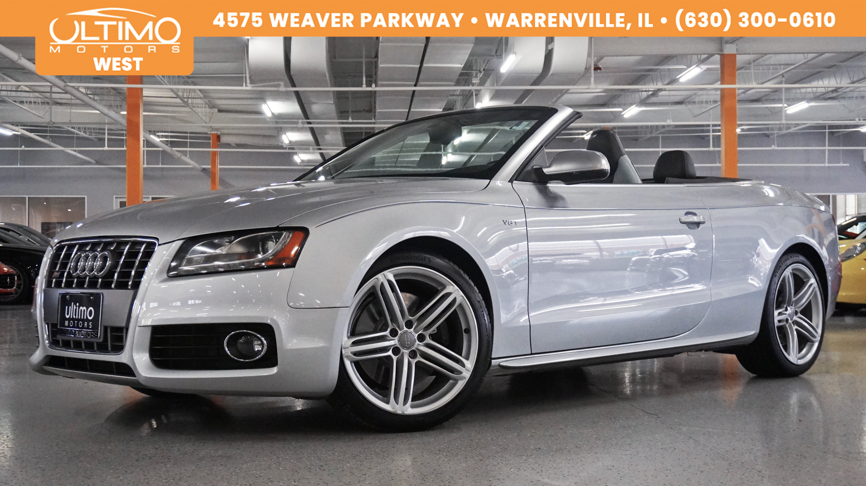 Pre-Owned 2011 Audi S5 Premium Plus