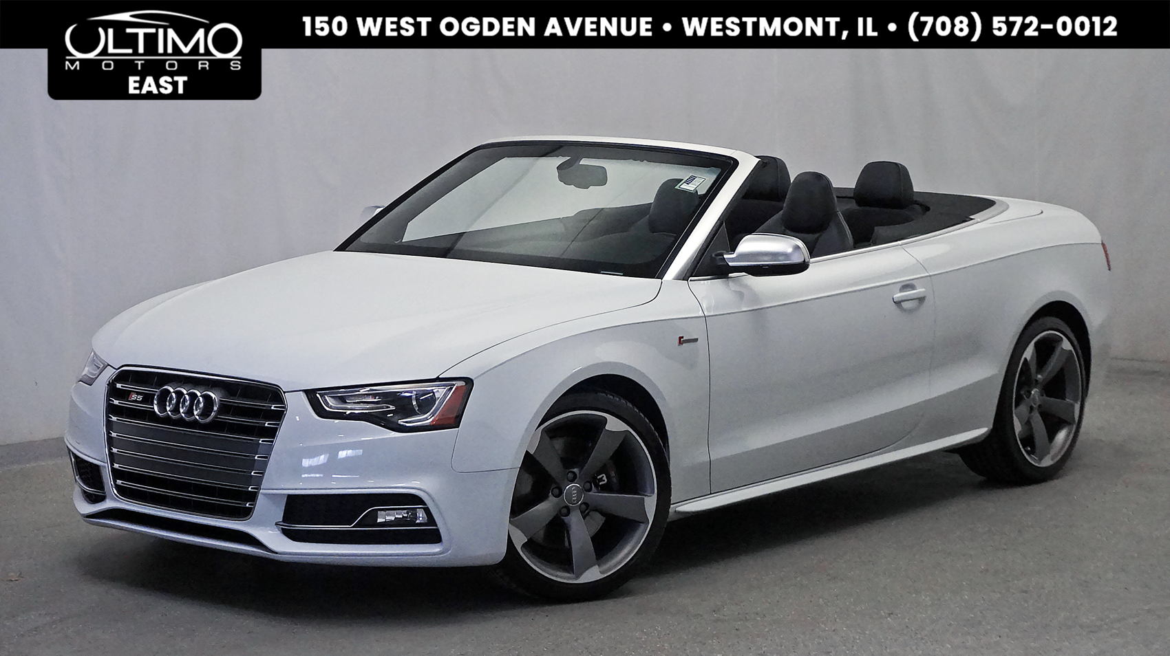 Pre-Owned 2014 Audi S5 Premium Plus Navigation+ Pkg, Bang & Olufsen Sound, 19-Wheels, Xenon Plus
