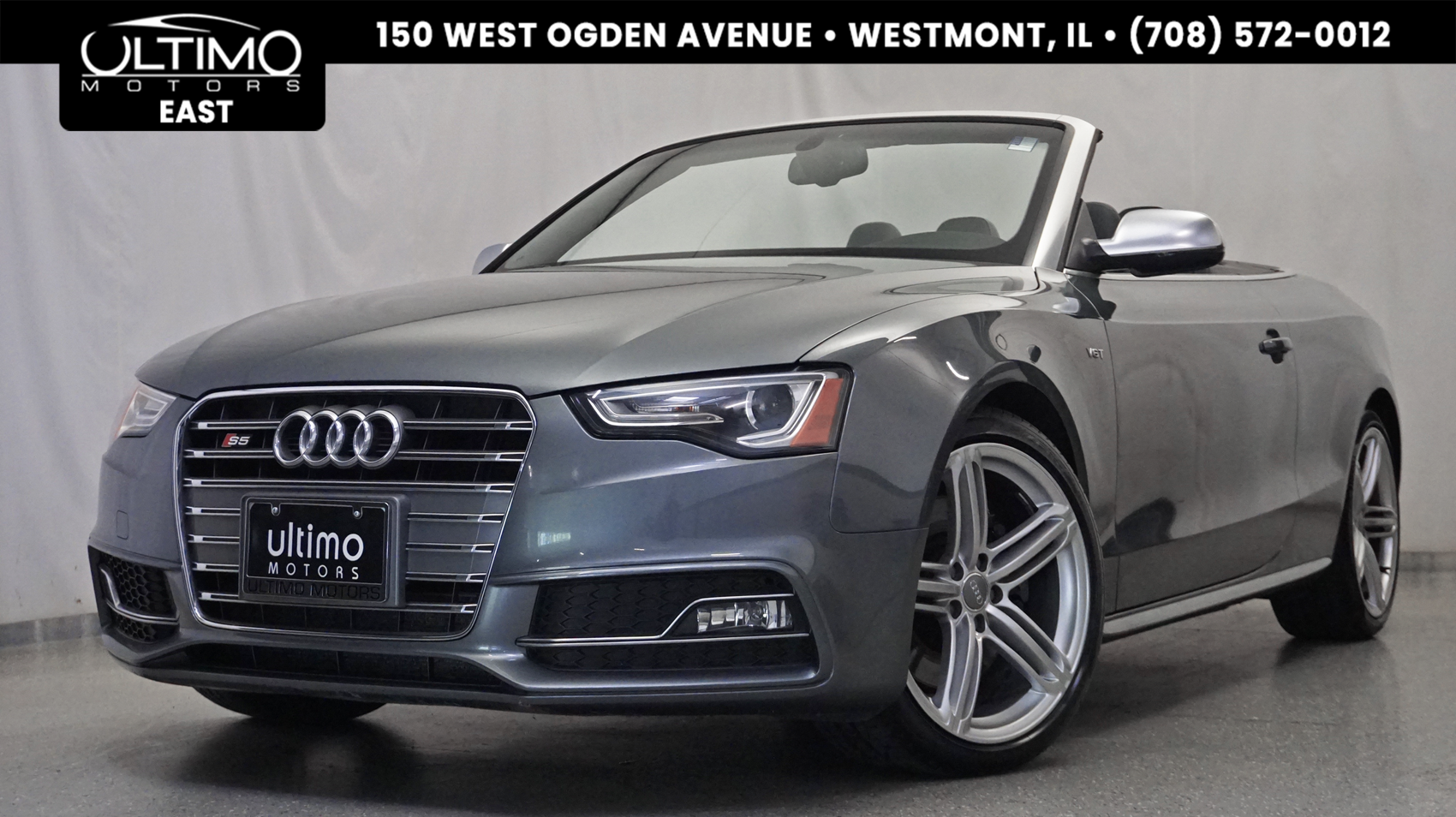 Pre-Owned 2013 Audi S5 Premium Plus
