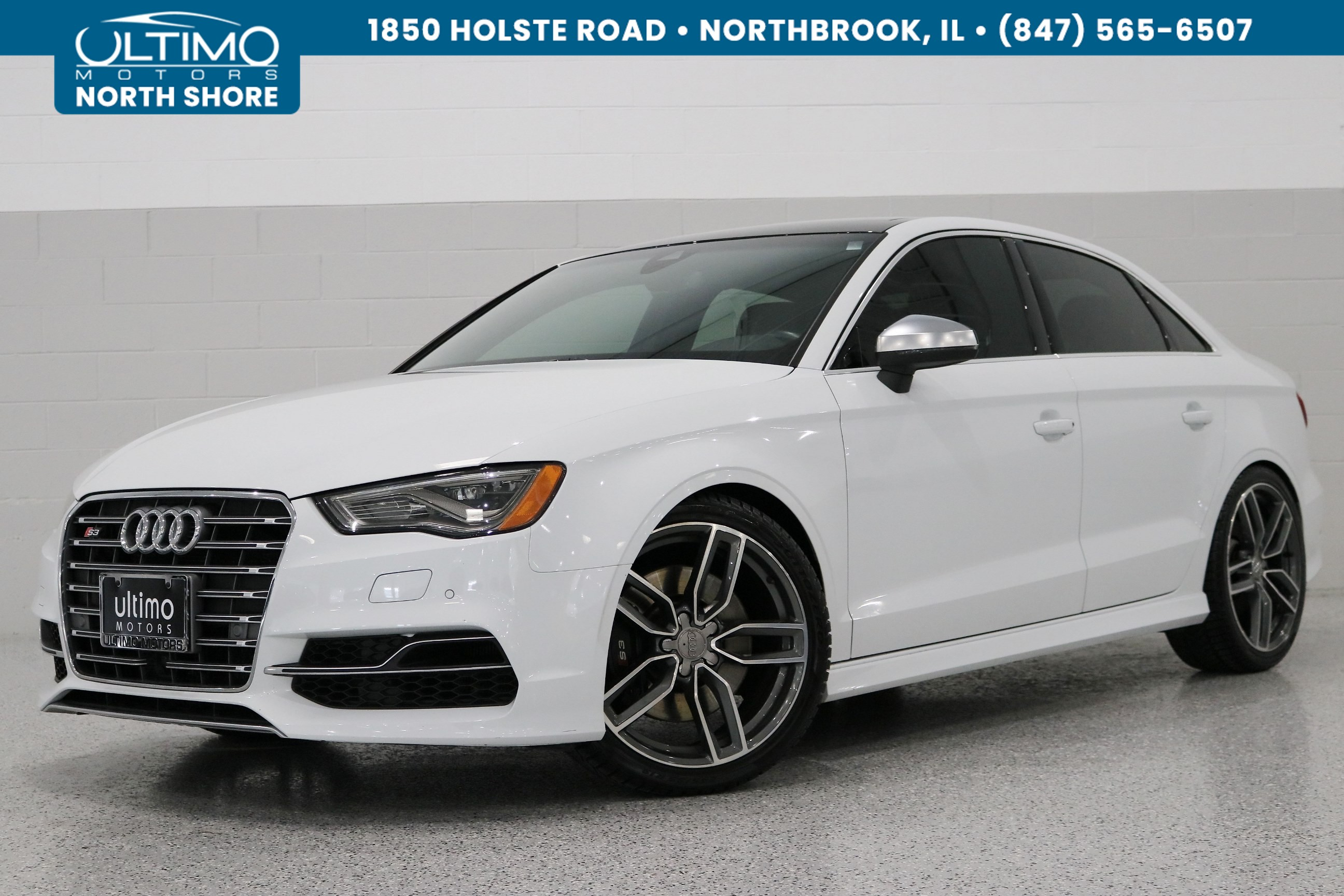 Pre-Owned 2016 Audi S3 Prestige, 19 Inch Performance Package.