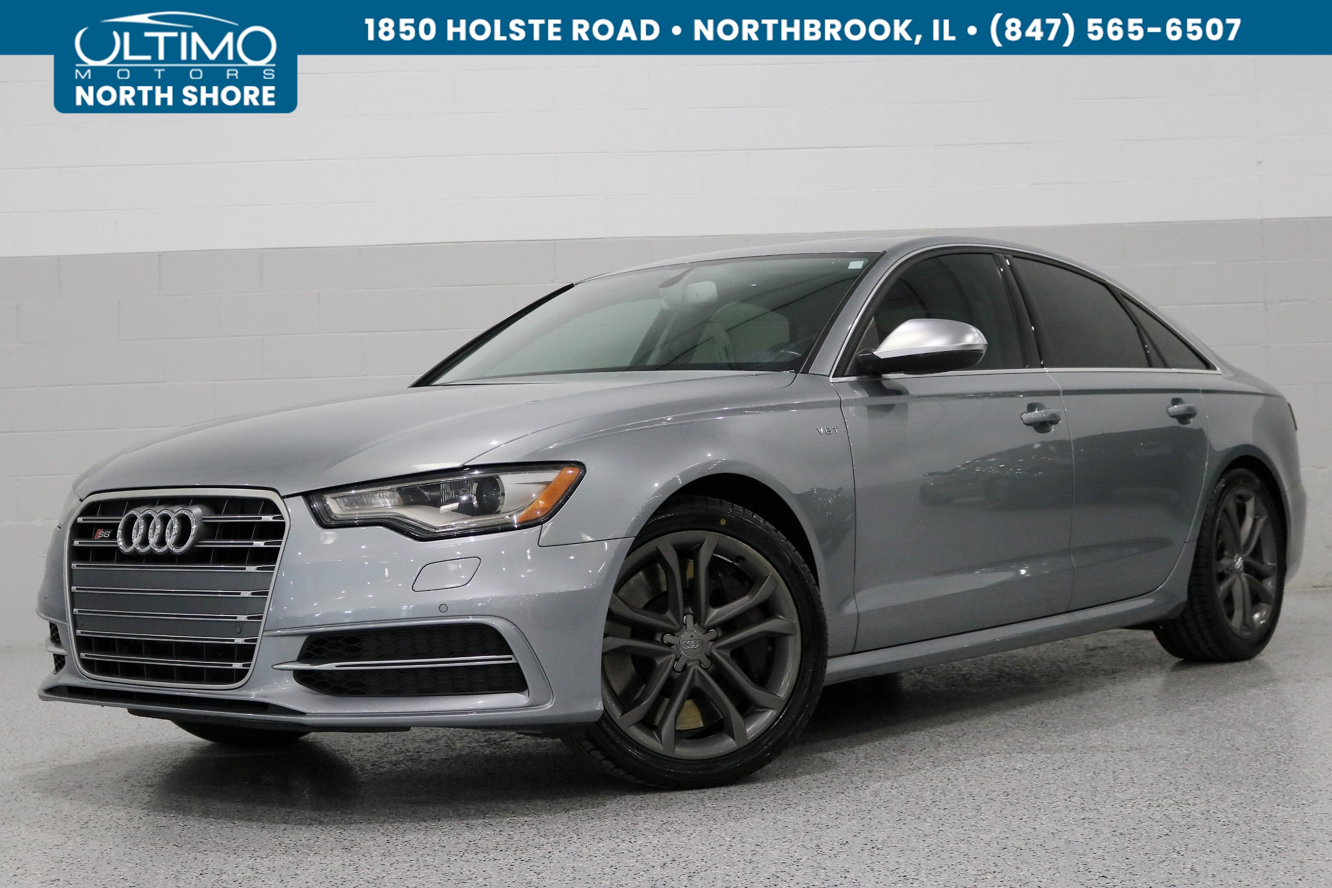 Pre-Owned 2013 Audi S6 Side Assist, Drive Select, S Tronic