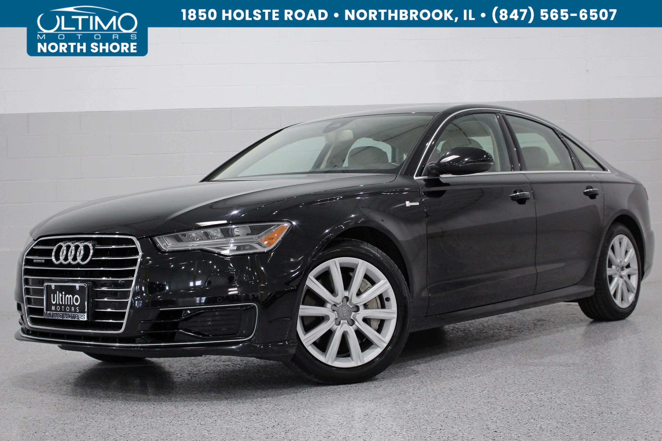 Pre-Owned 2016 Audi A6 3.0T Prestige 1 Owner