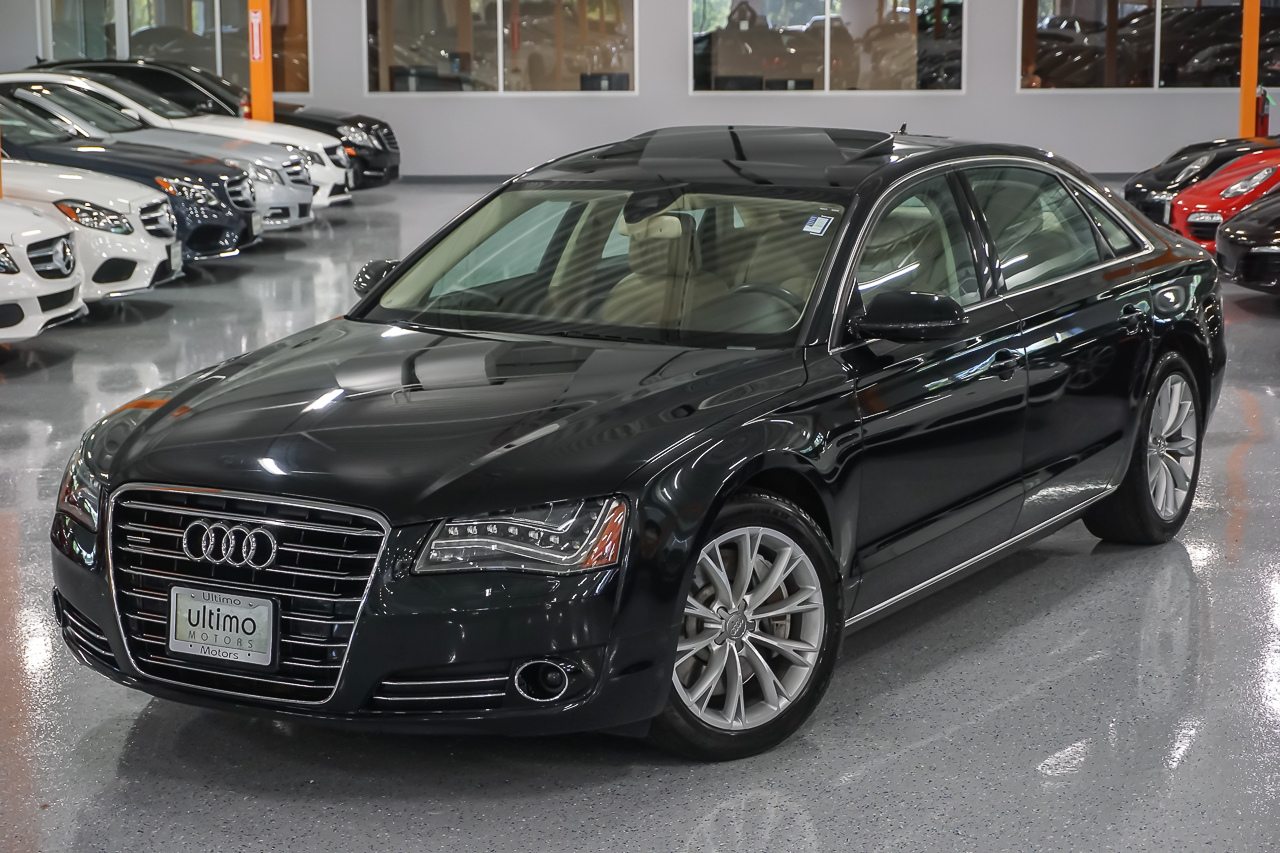 Pre Owned 2011 Audi A8 L Sedan In Warrenville U1943a