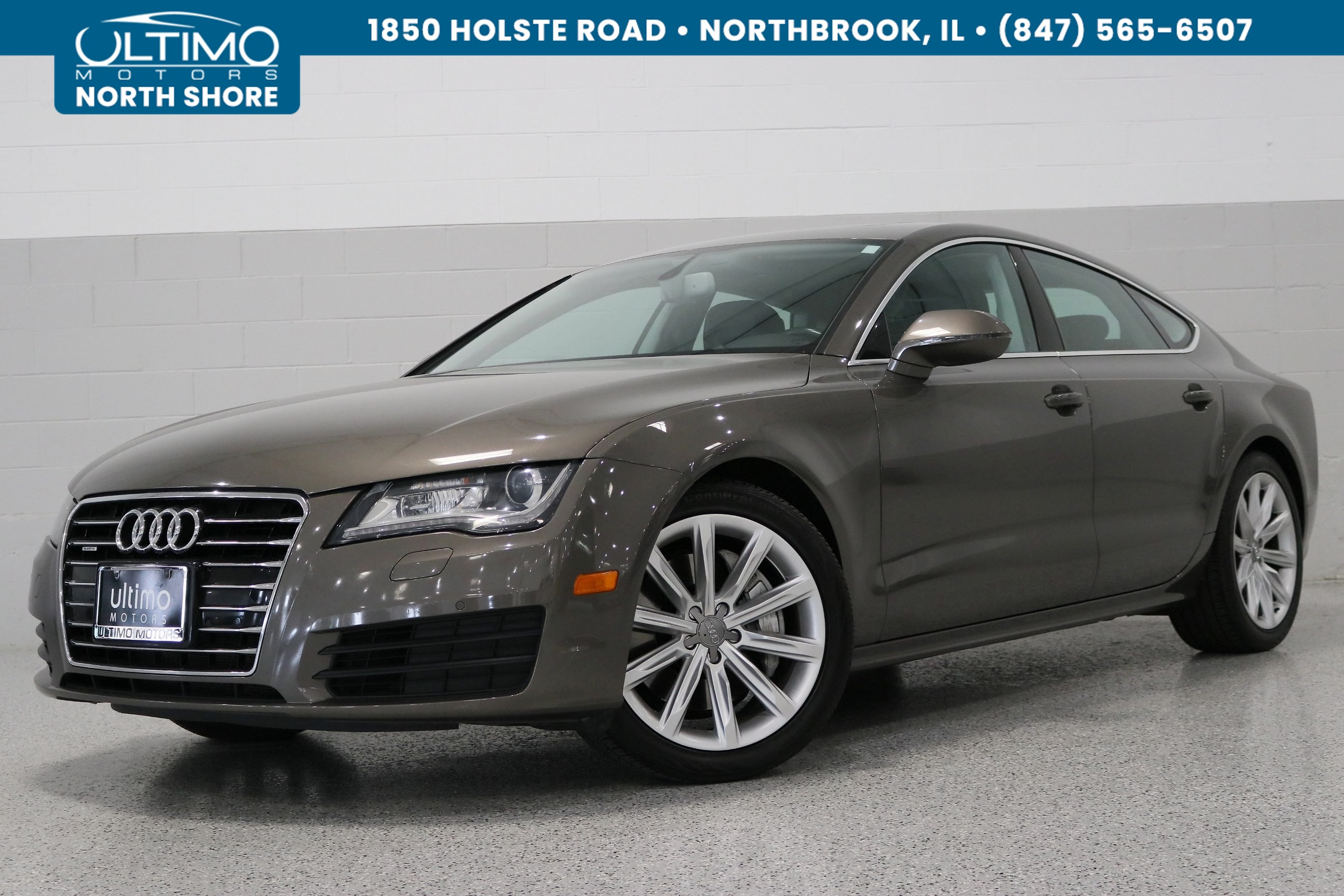 Pre-Owned 2012 Audi A7 3.0 Premium Plus, Side Assist, Launch Vehicle