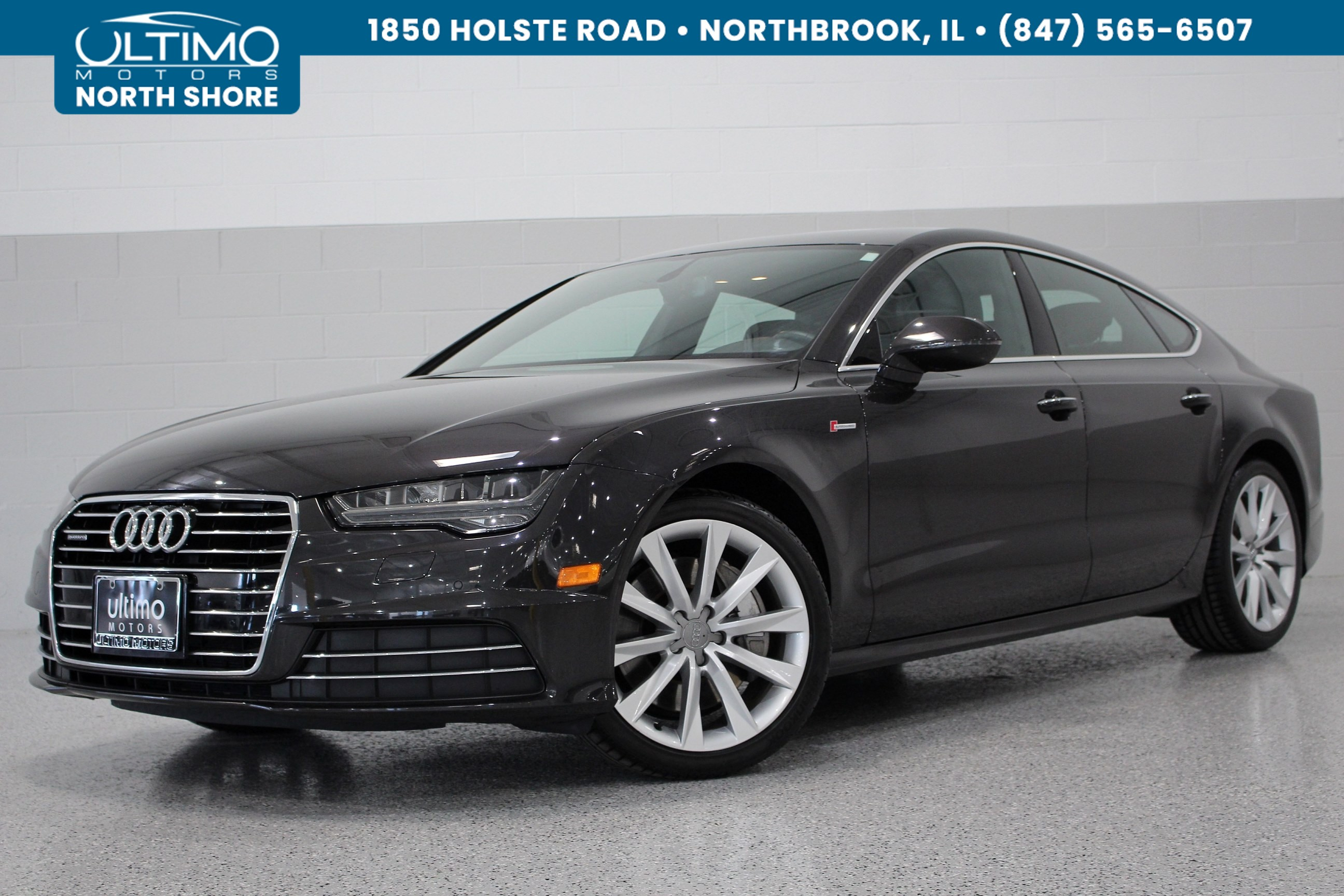 Pre-Owned 2016 Audi A7 3.0 Premium Plus, Cold Weather, BOSE.